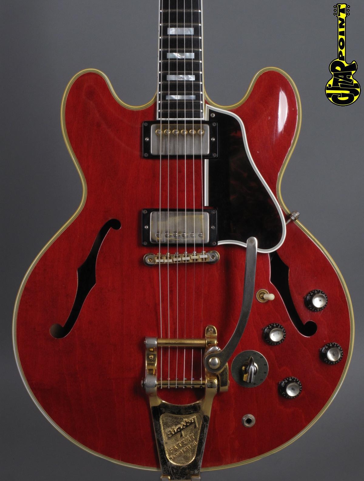 1963 Gibson ES-355 TDSV / Stereo - Cherry