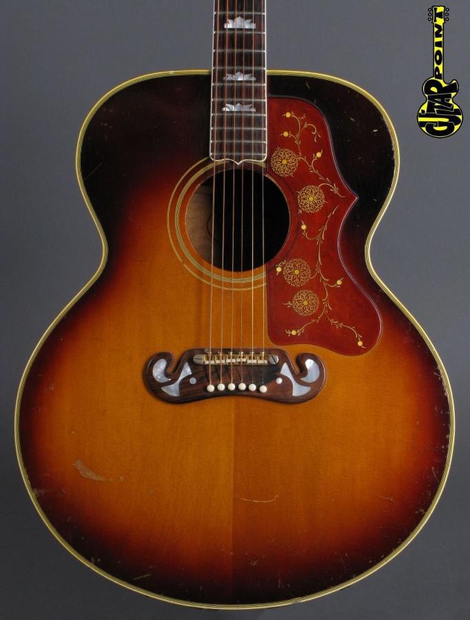 1963 Gibson J-200 - Sunburst