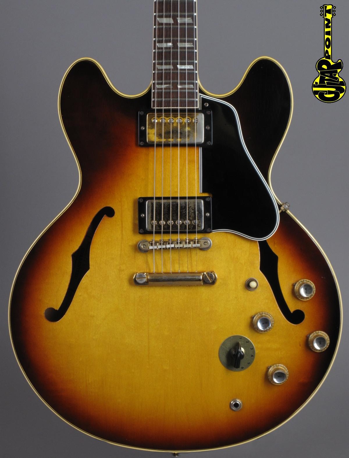 1964 Gibson ES-345 TD Stereo - Sunburst
