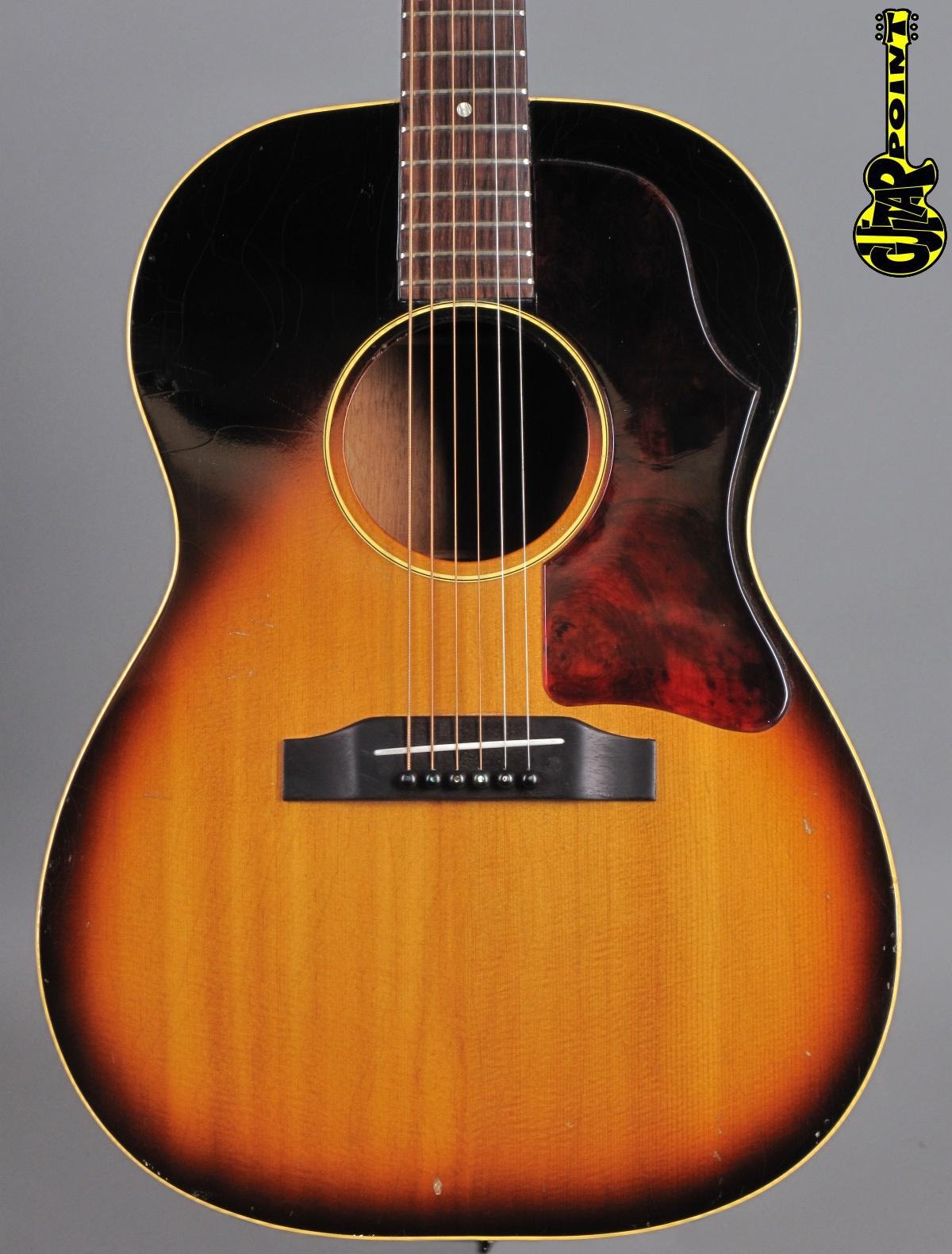 1964 Gibson LG-1 - Sunburst
