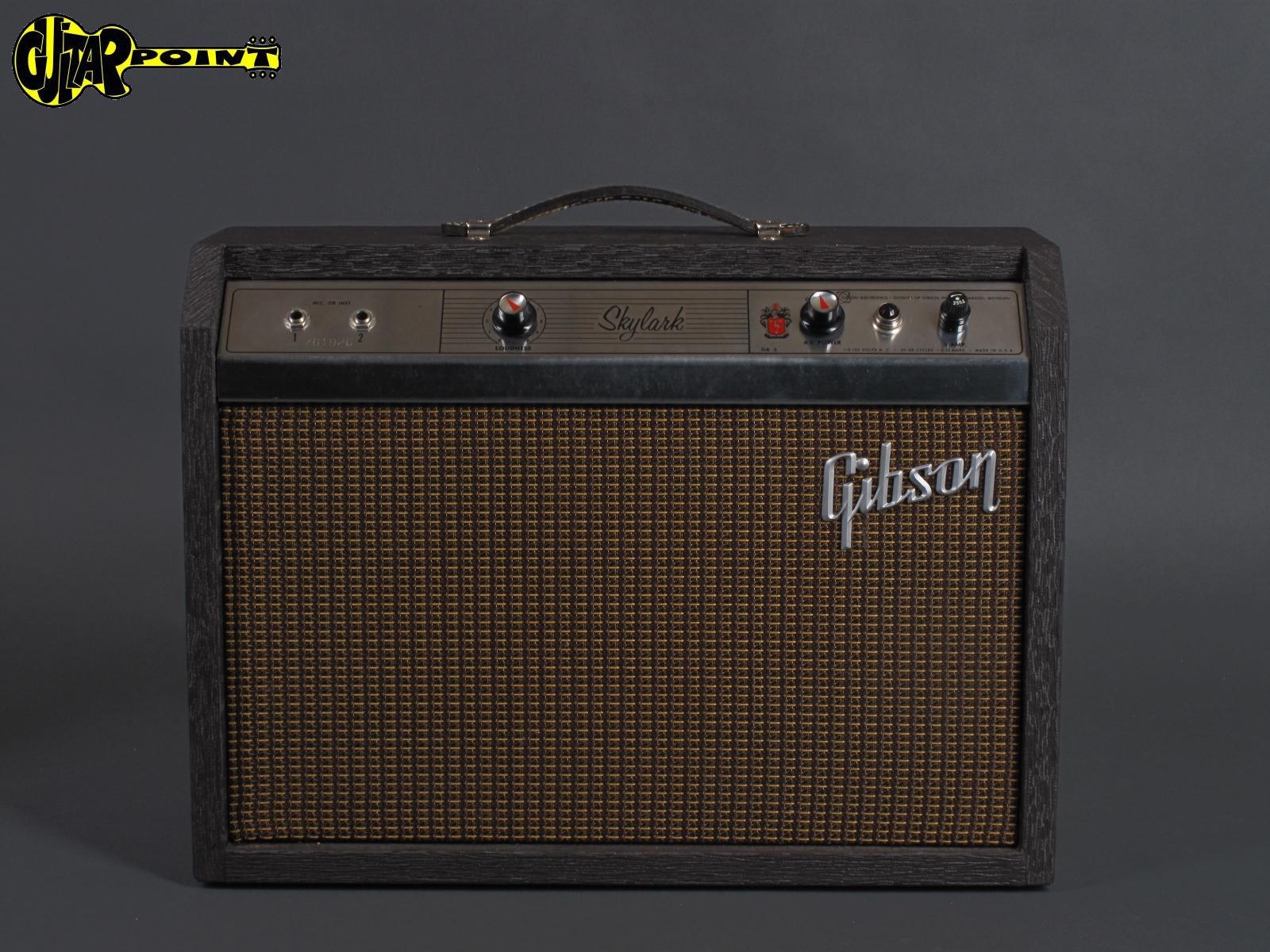 1964 Gibson GA-5 Skylark - Tube Amplifier     ...mint !!!