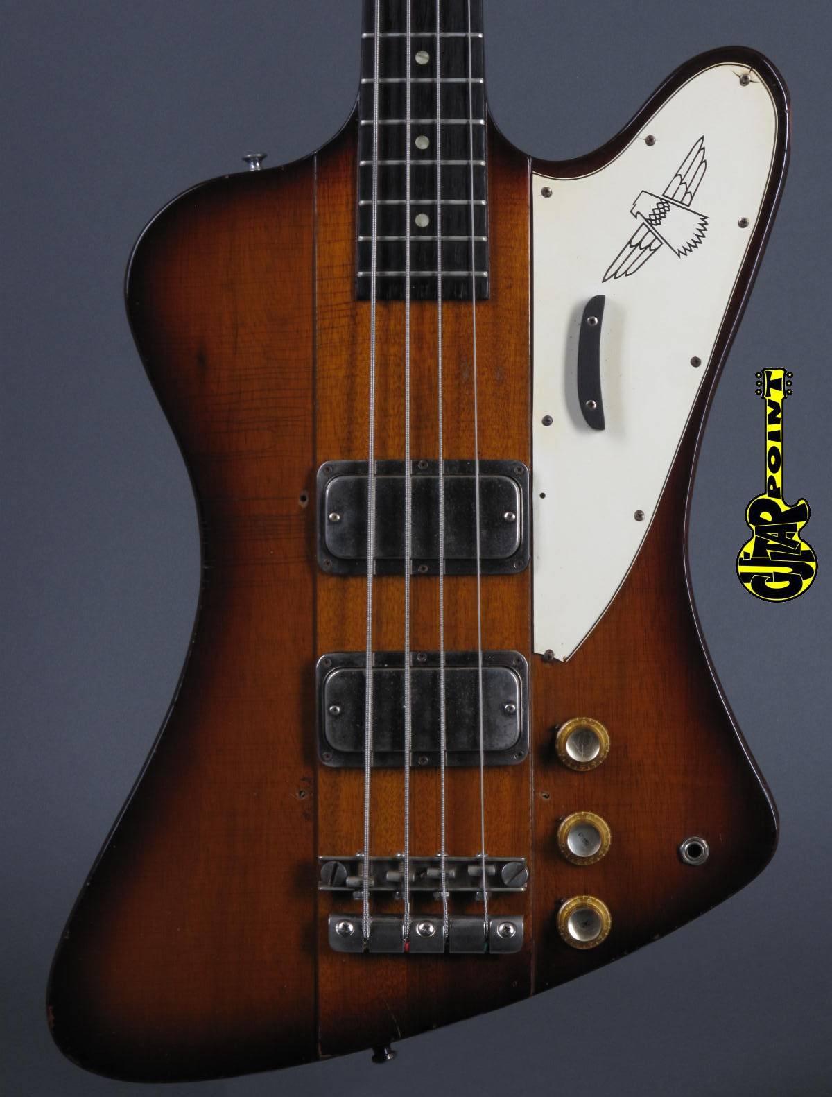 1964 Gibson Thunderbird IV Reverse Bass - Sunburst