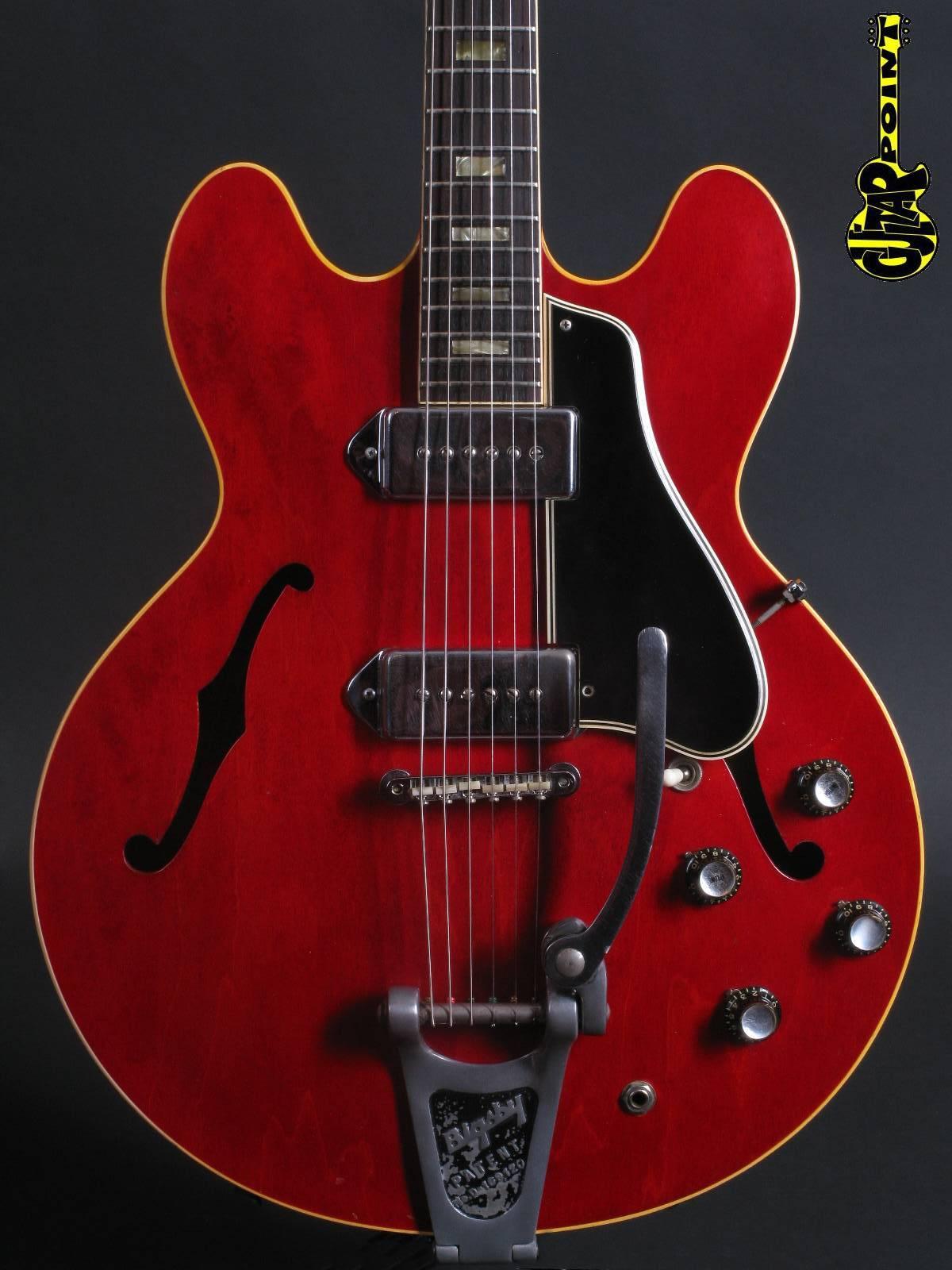 1965 Gibson ES-330 TD/Bigsby - Cherry