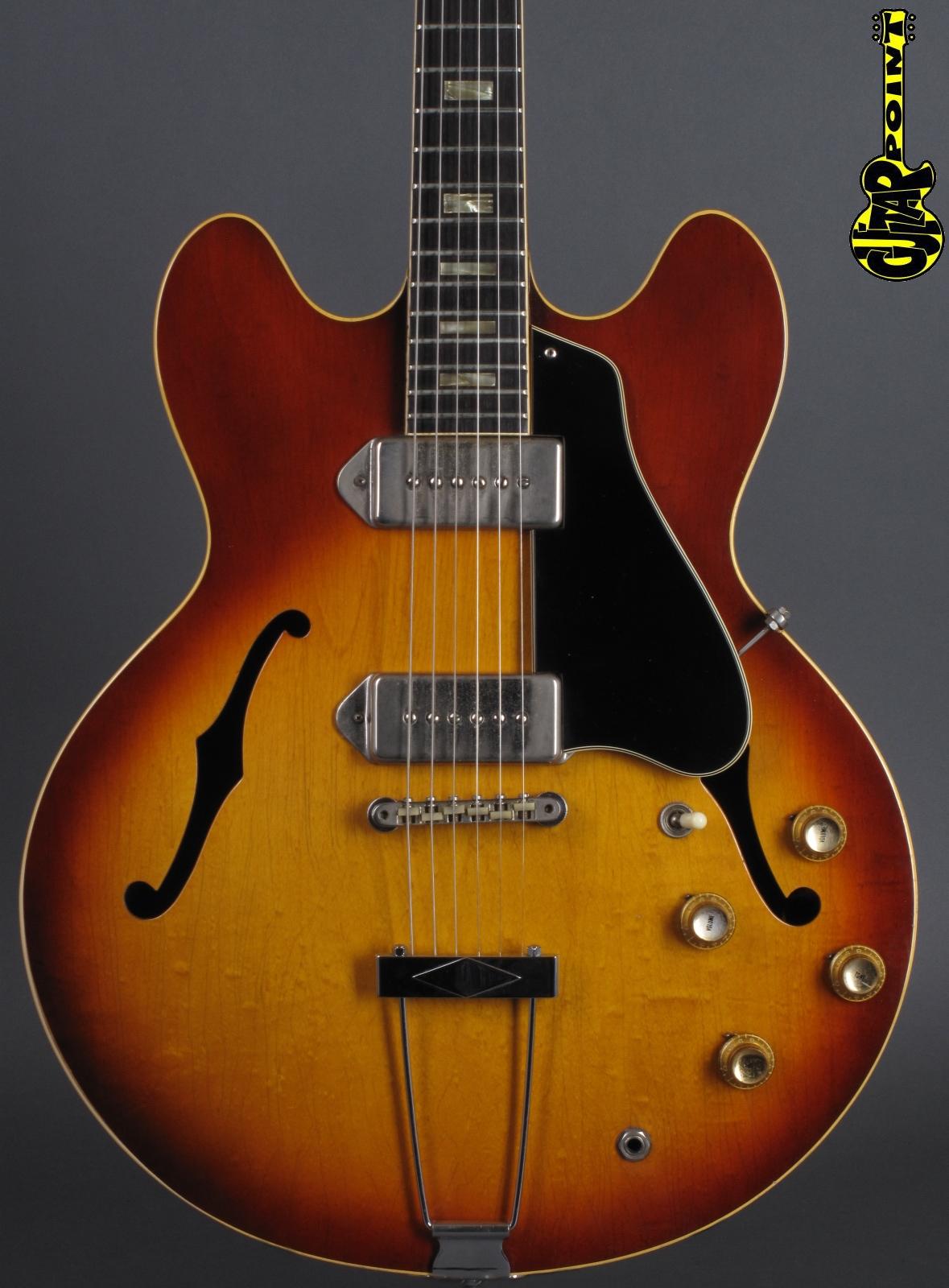 1965 Gibson ES-330 TD - Icetea Sunburst -  RARE COLOR!
