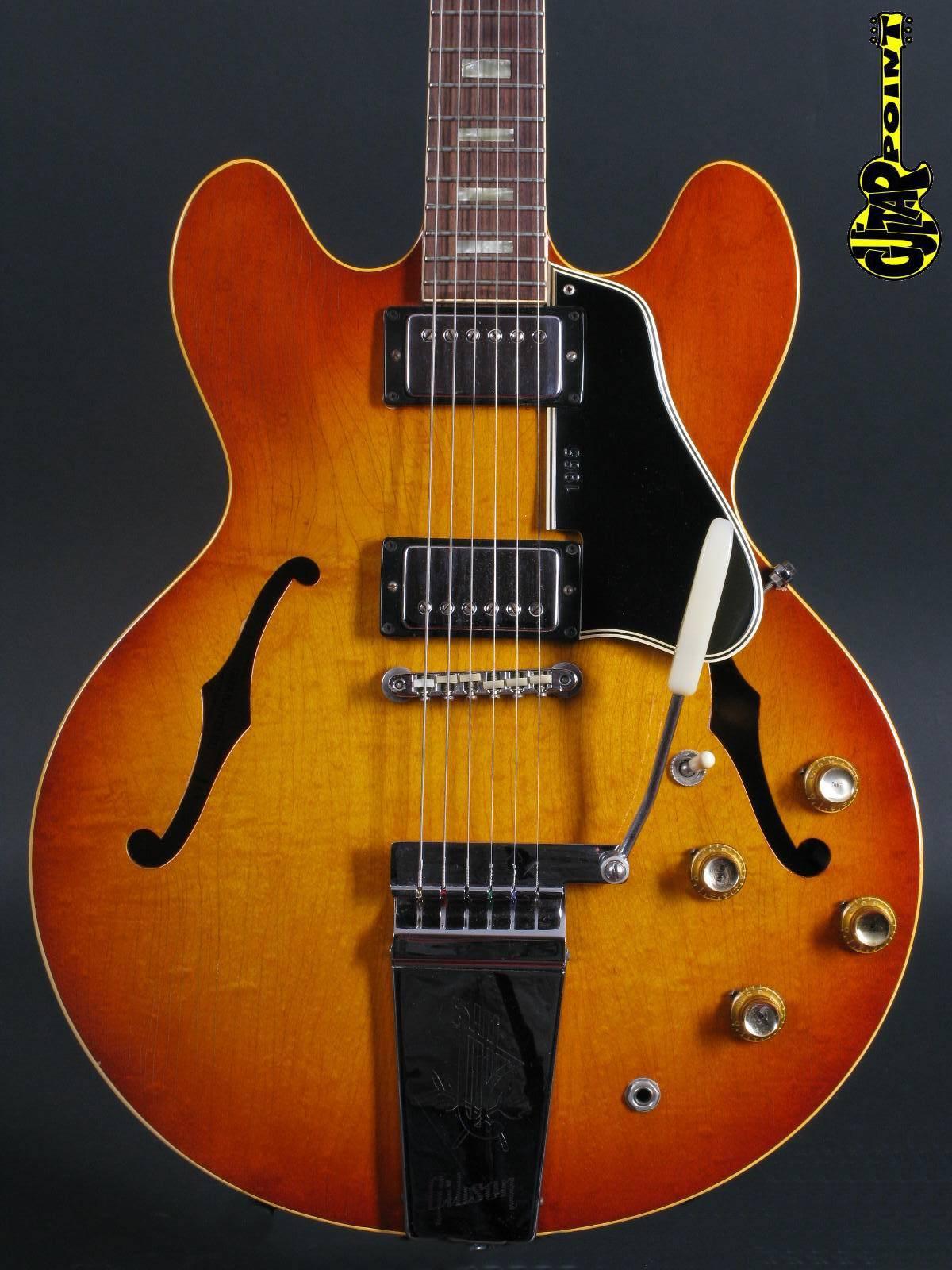 1965 Gibson ES-335 Sunburst / Maestro Trem