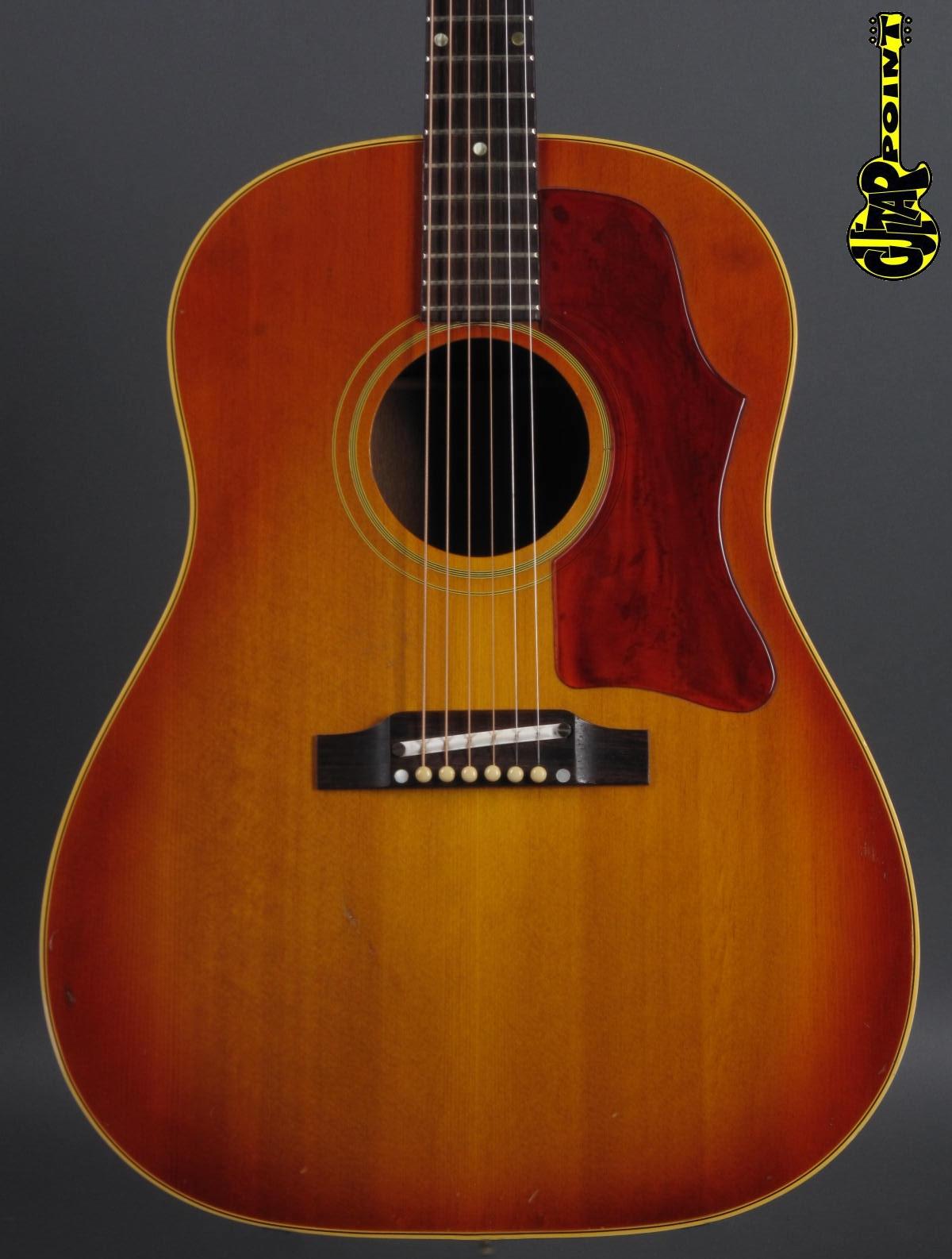 1965 Gibson J-45 - Cherry Sunburst