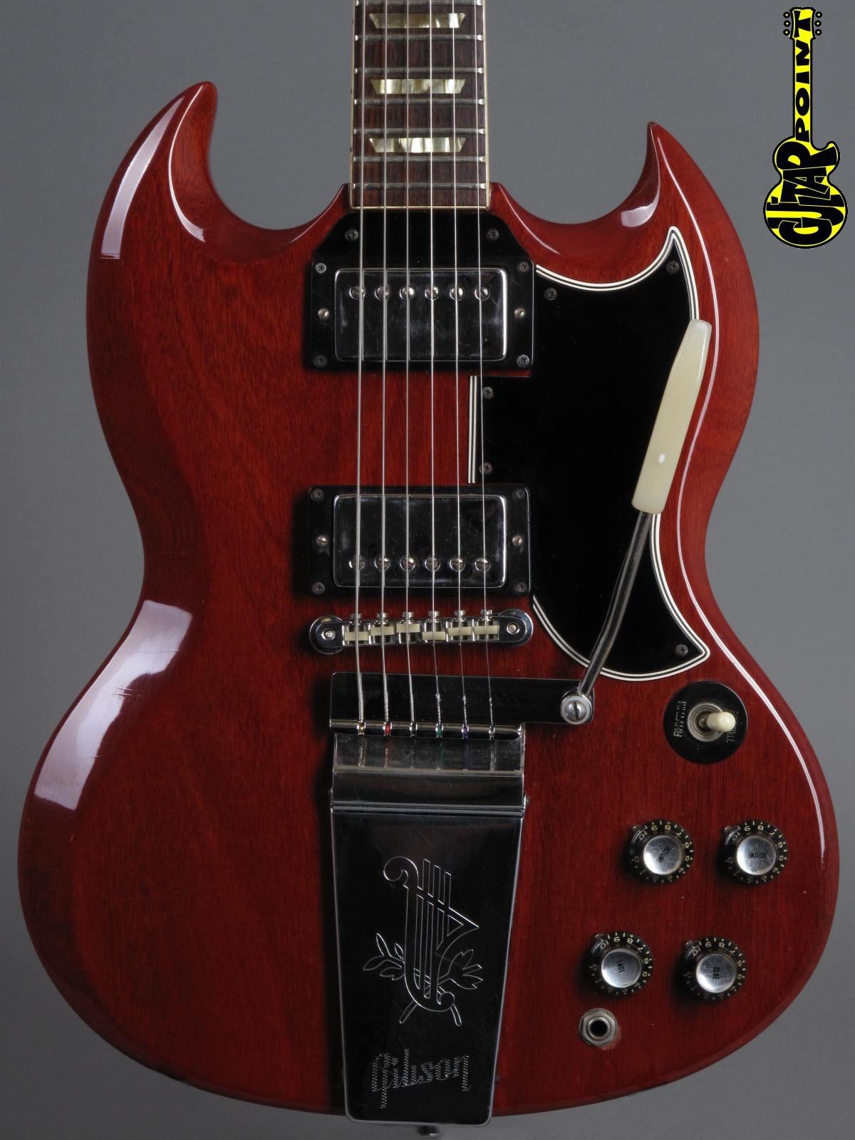 1965 Gibson SG Standard - Cherry   ...lightweight 3,26Kg!