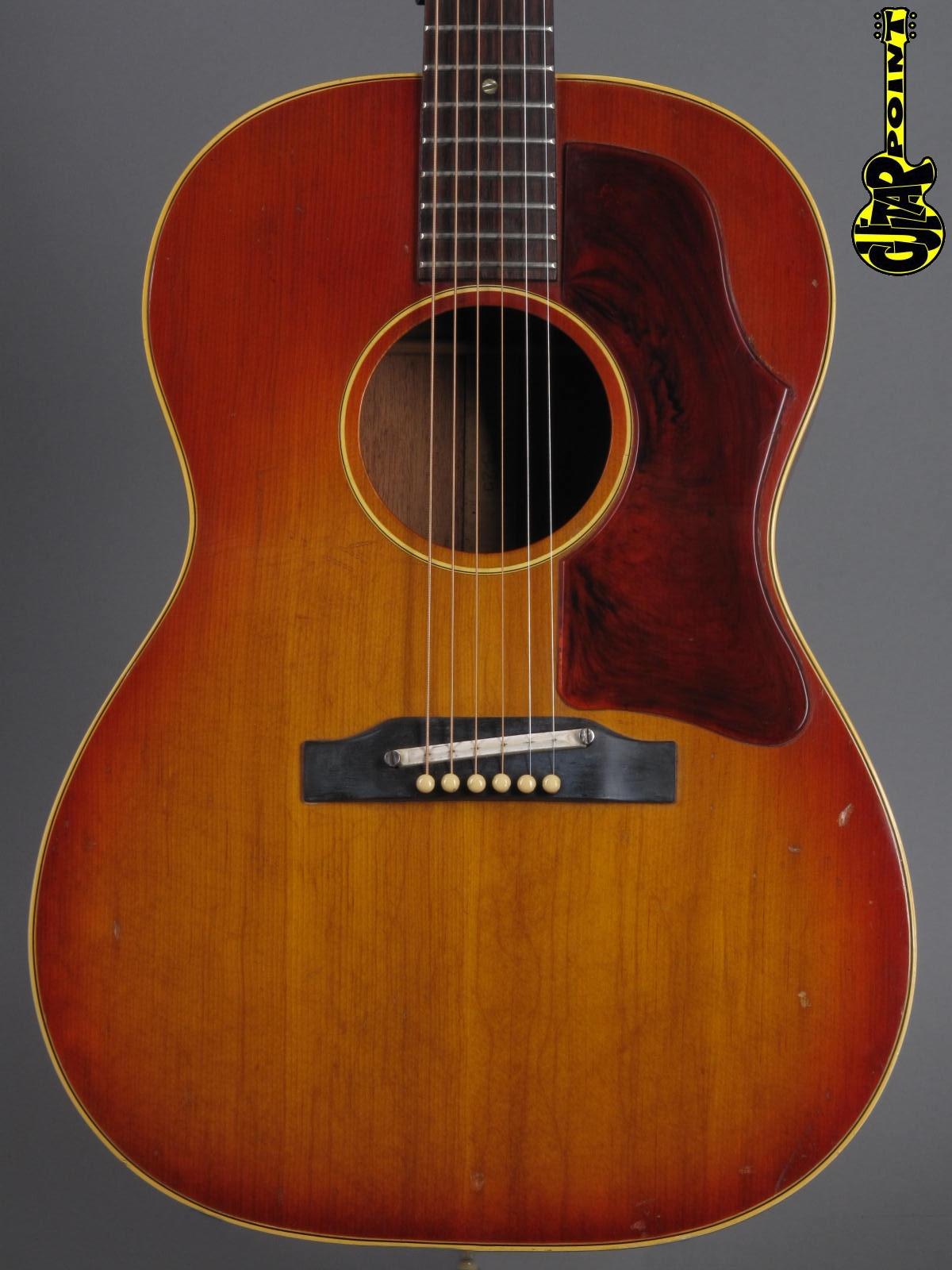 1965 Gibson B-25 - Cherry Sunburst        ...wide neck !!!