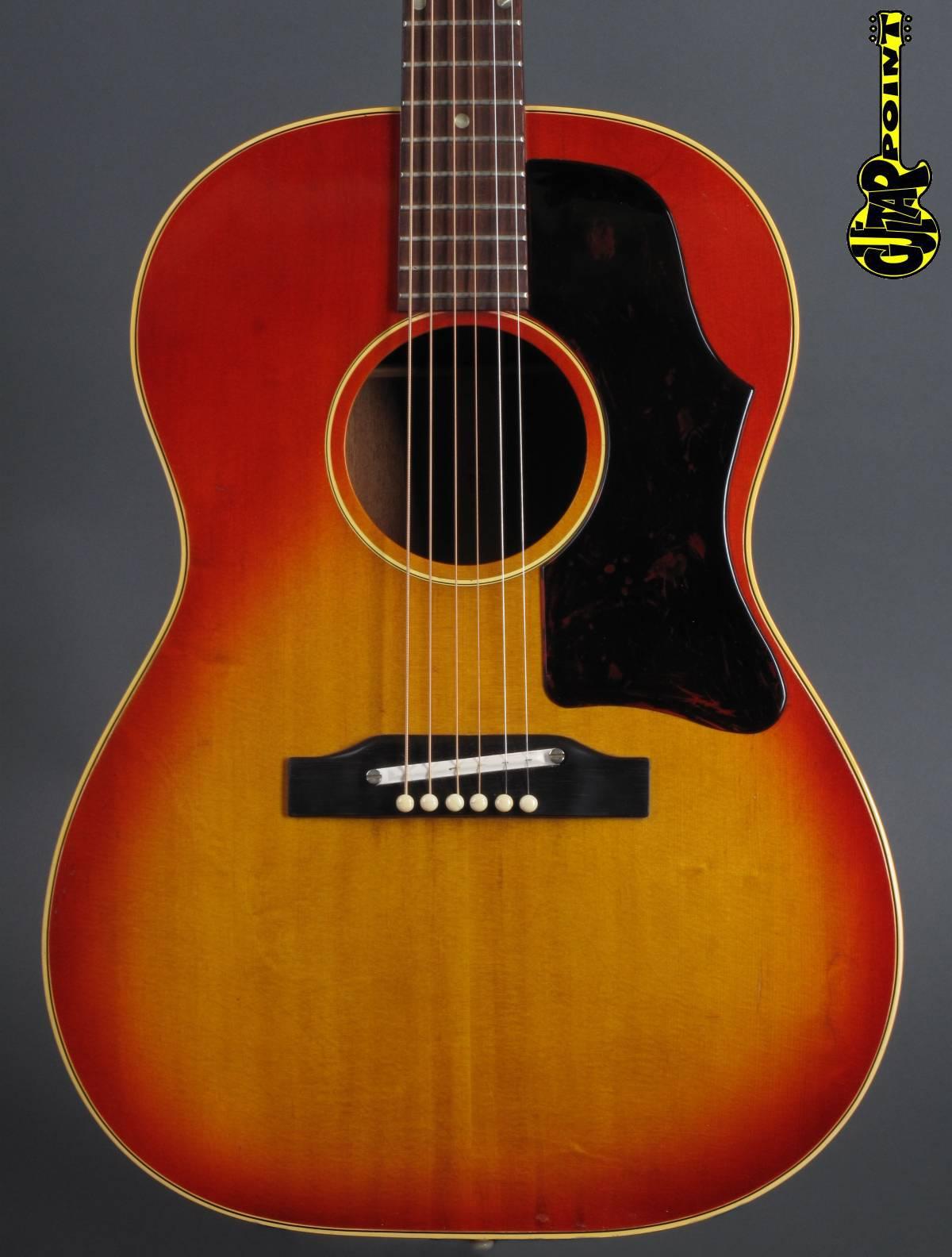 1966 Gibson B-25 - Cherry Sunburst