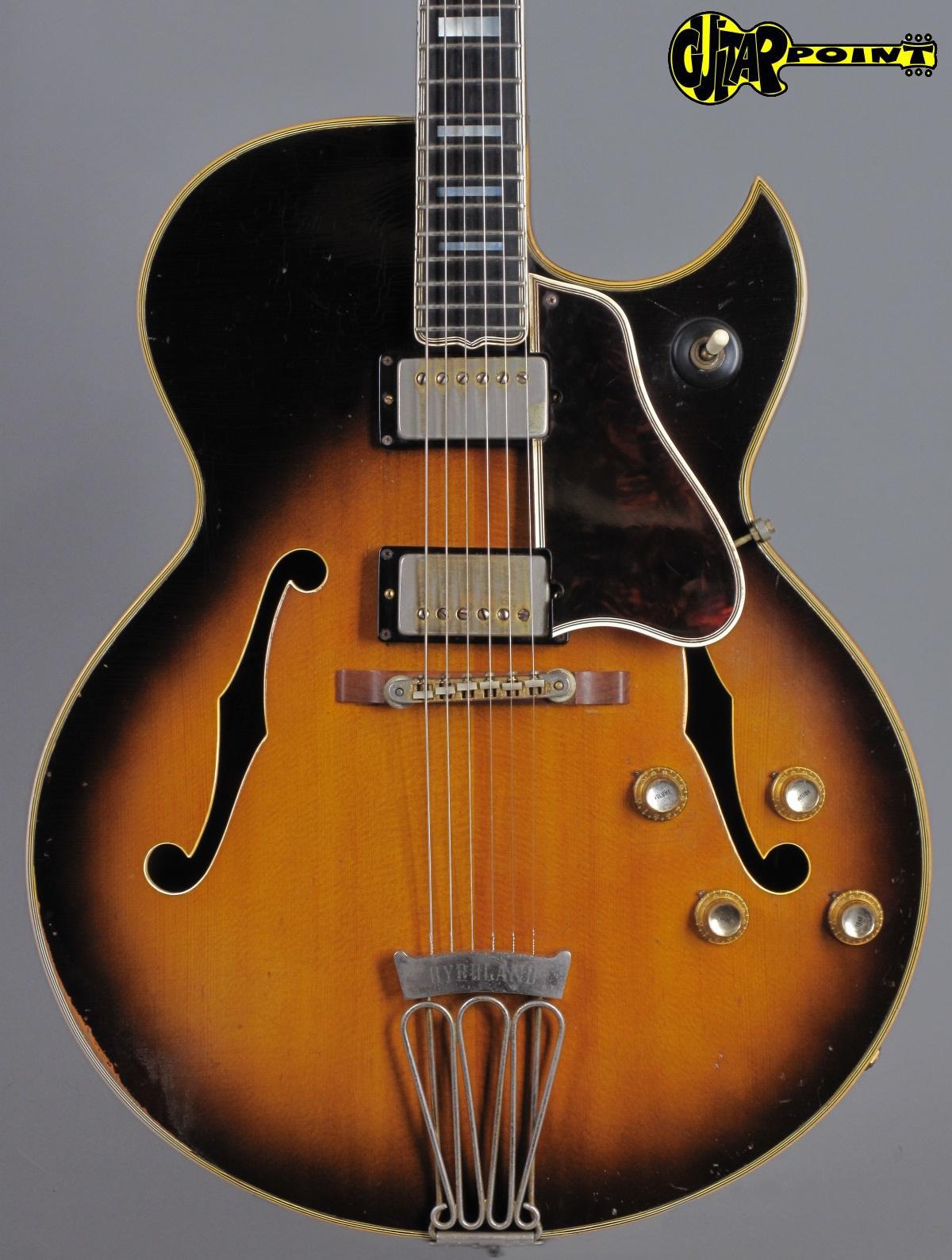 1966 Gibson Byrdland - Sunburst