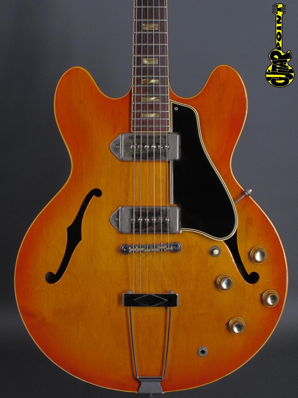 1966 Gibson ES-330 TD - Icetea Sunburst