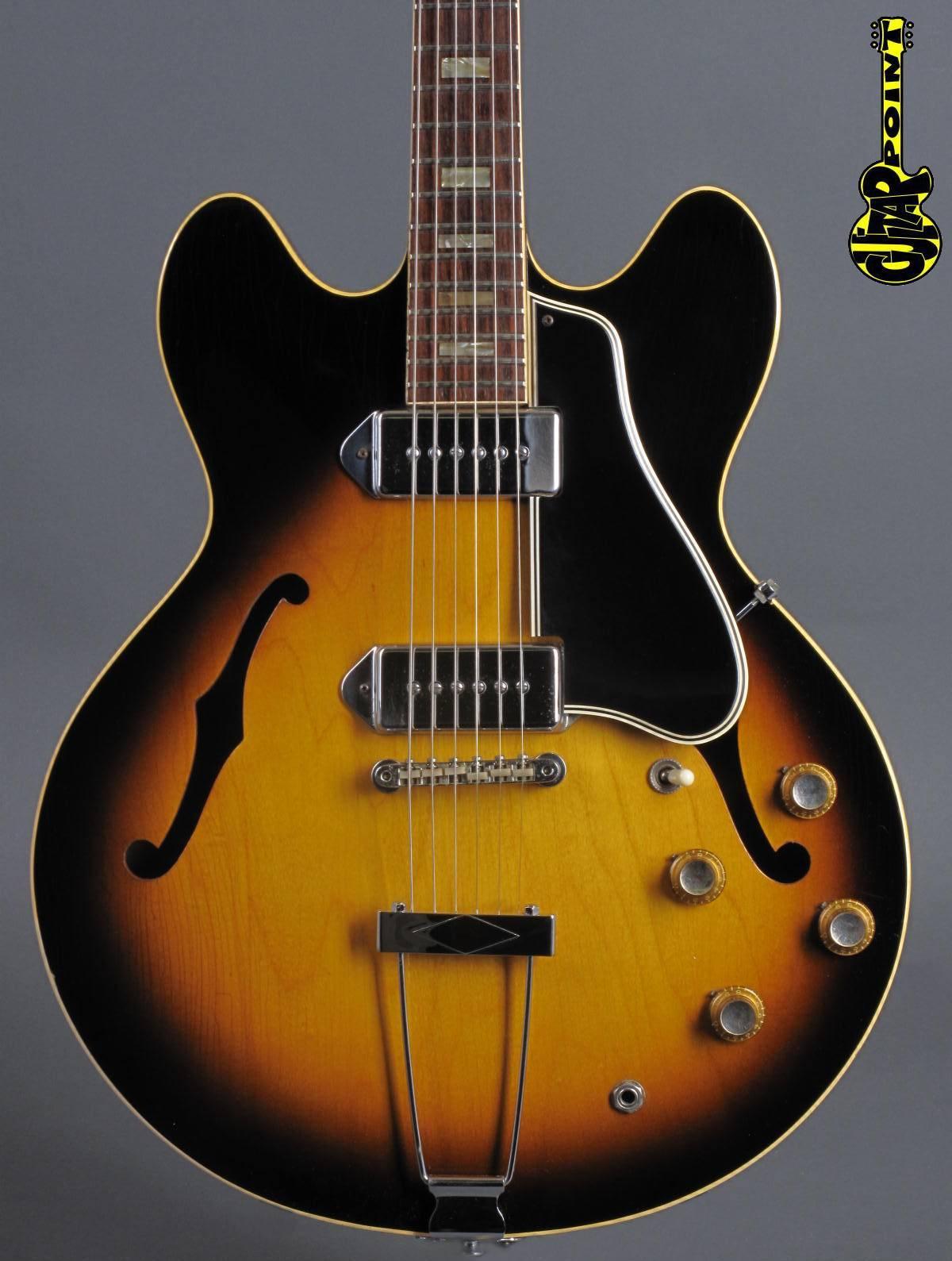 1966 Gibson ES-330 TD - Sunburst  + Hangtags !!!