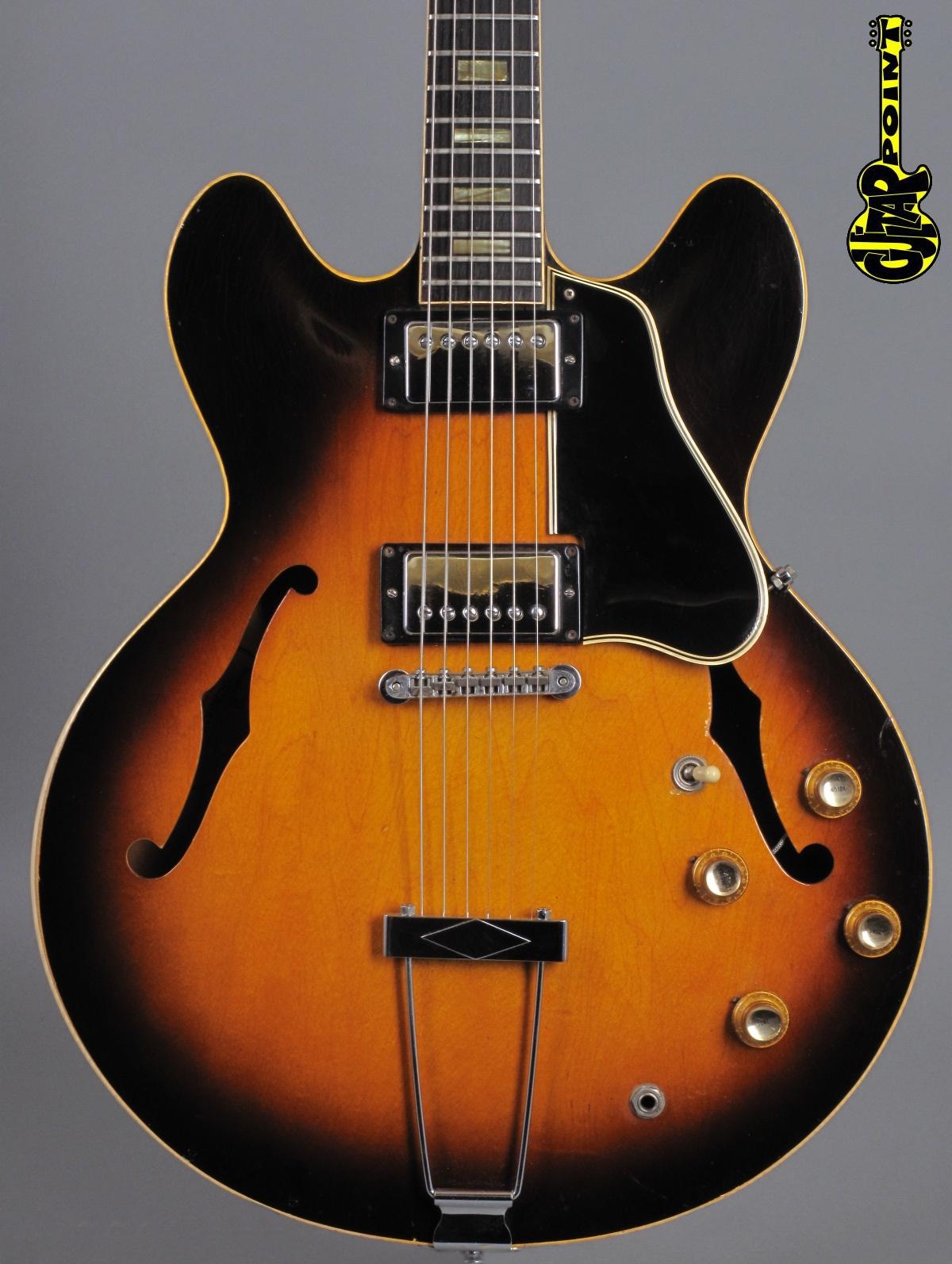 1966 Gibson ES-335 TD -  Sunburst
