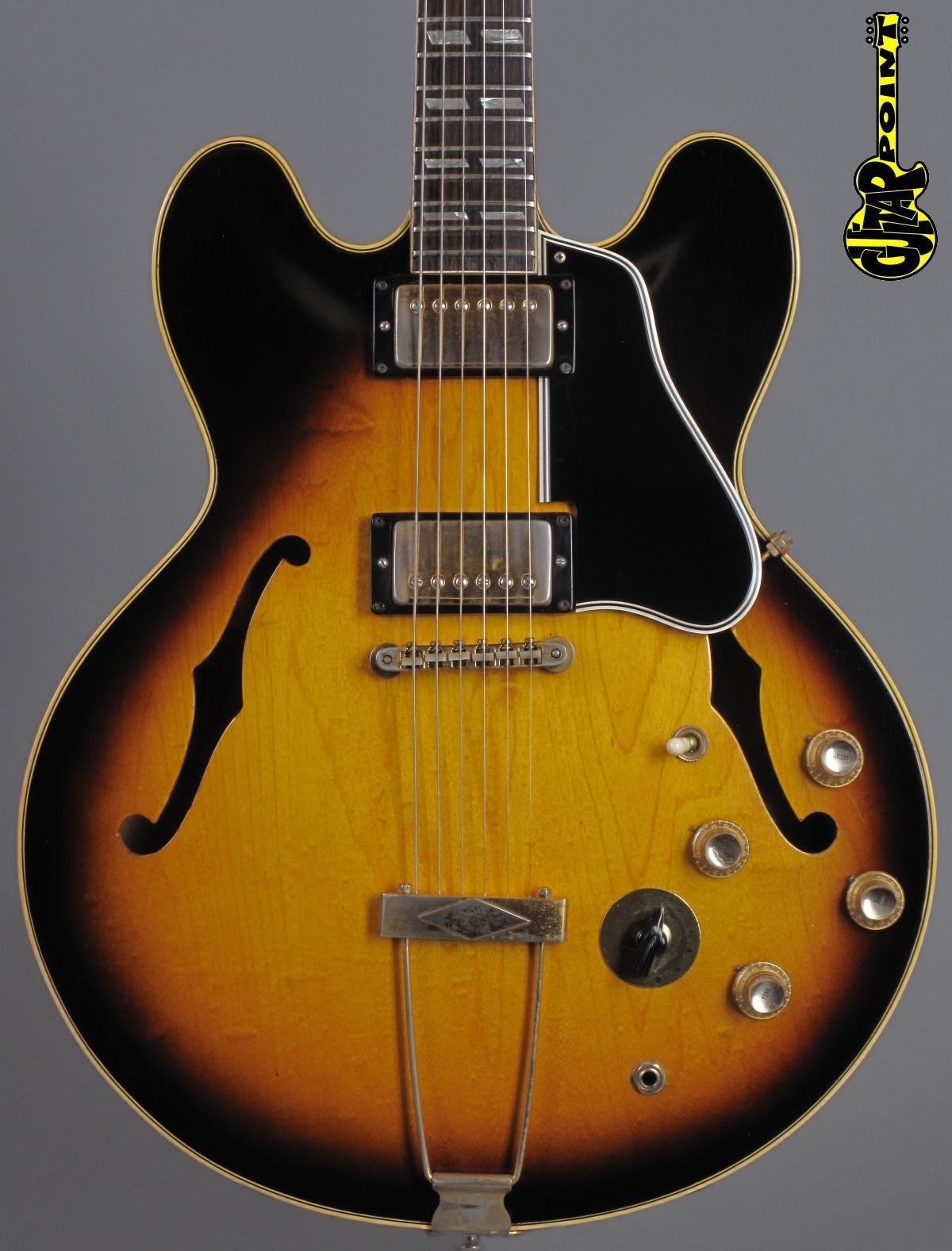 1966 Gibson ES-345 TDSV Stereo - Sunburst