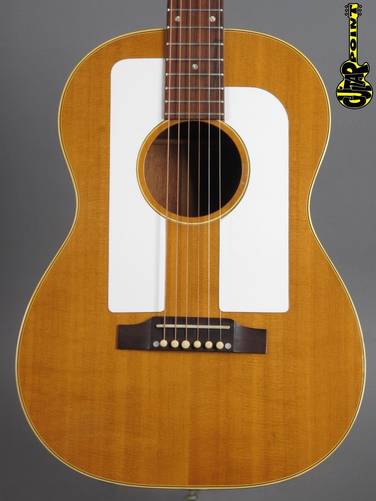 1966 Gibson F-25 Folksinger - Natural