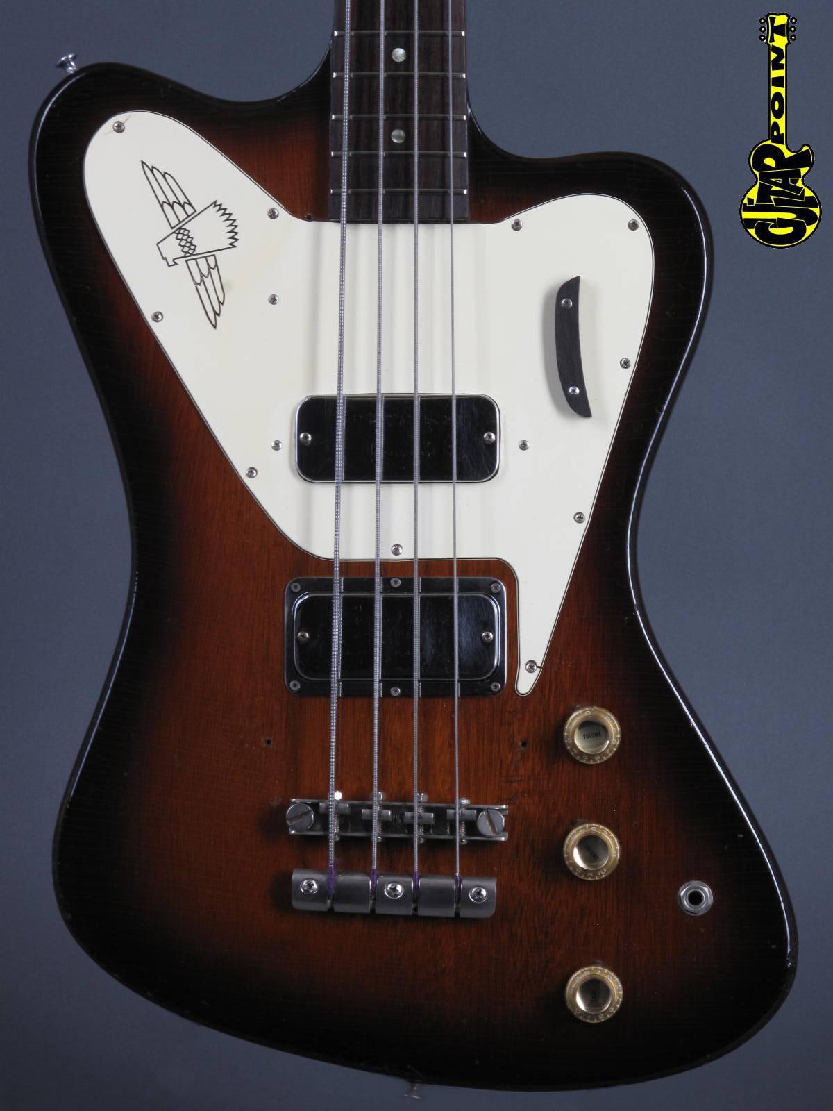 1966 Gibson Thunderbird IV Bass - Sunburst