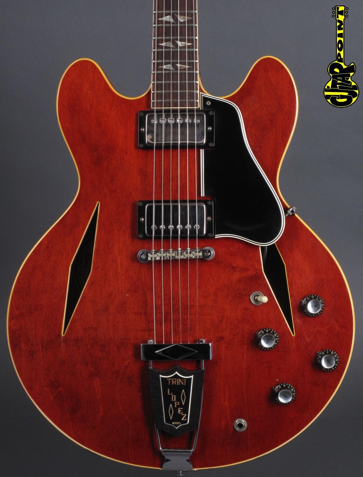 1966 Gibson Trini Lopez Standard - Cherry