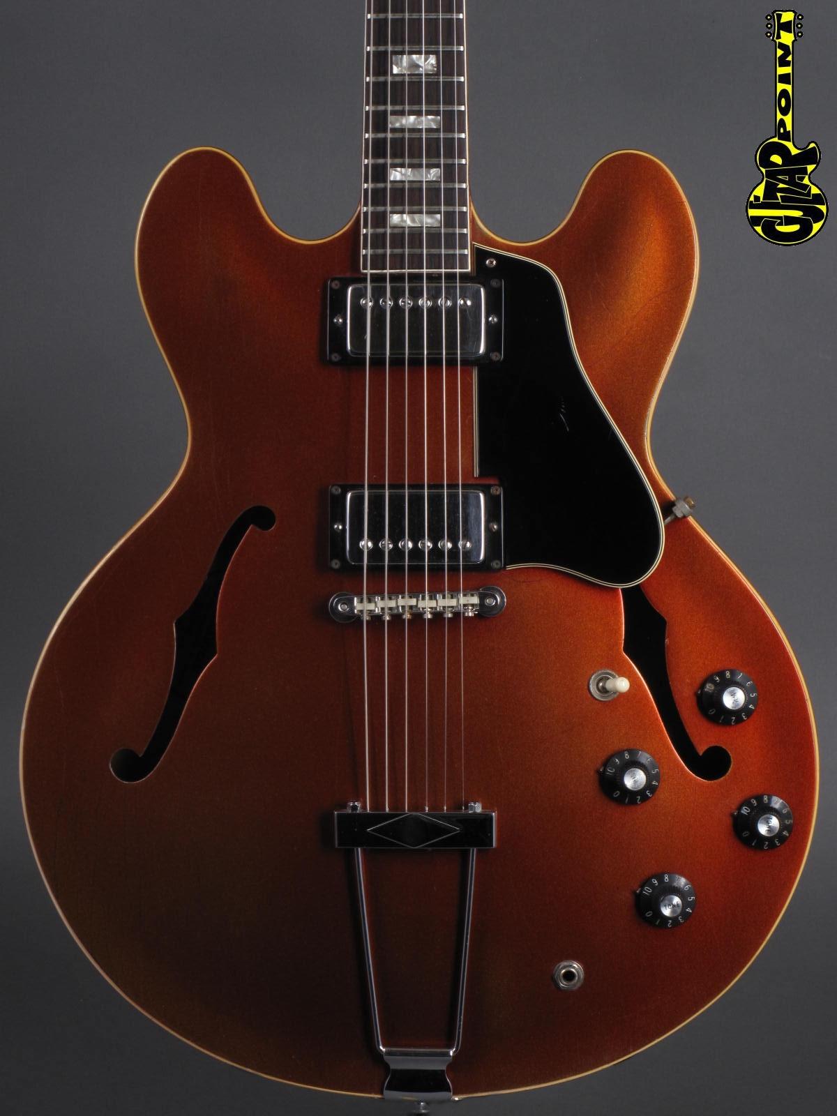1967 Gibson ES-335 TD -  Sparkling Burgundy Metallic