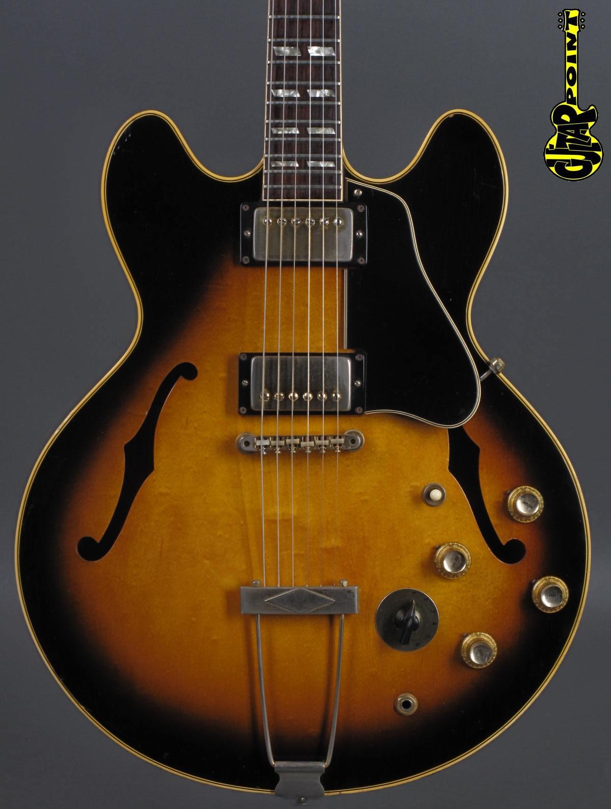 1967 Gibson ES-345 TDSV Stereo - Sunburst