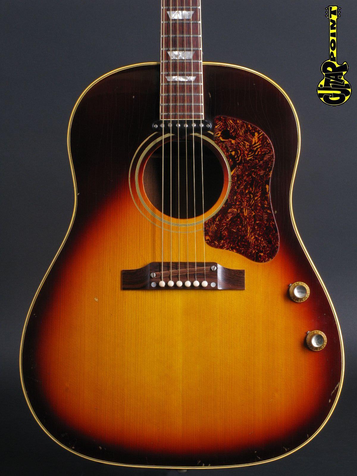 1967 Gibson J-160E - Sunburst