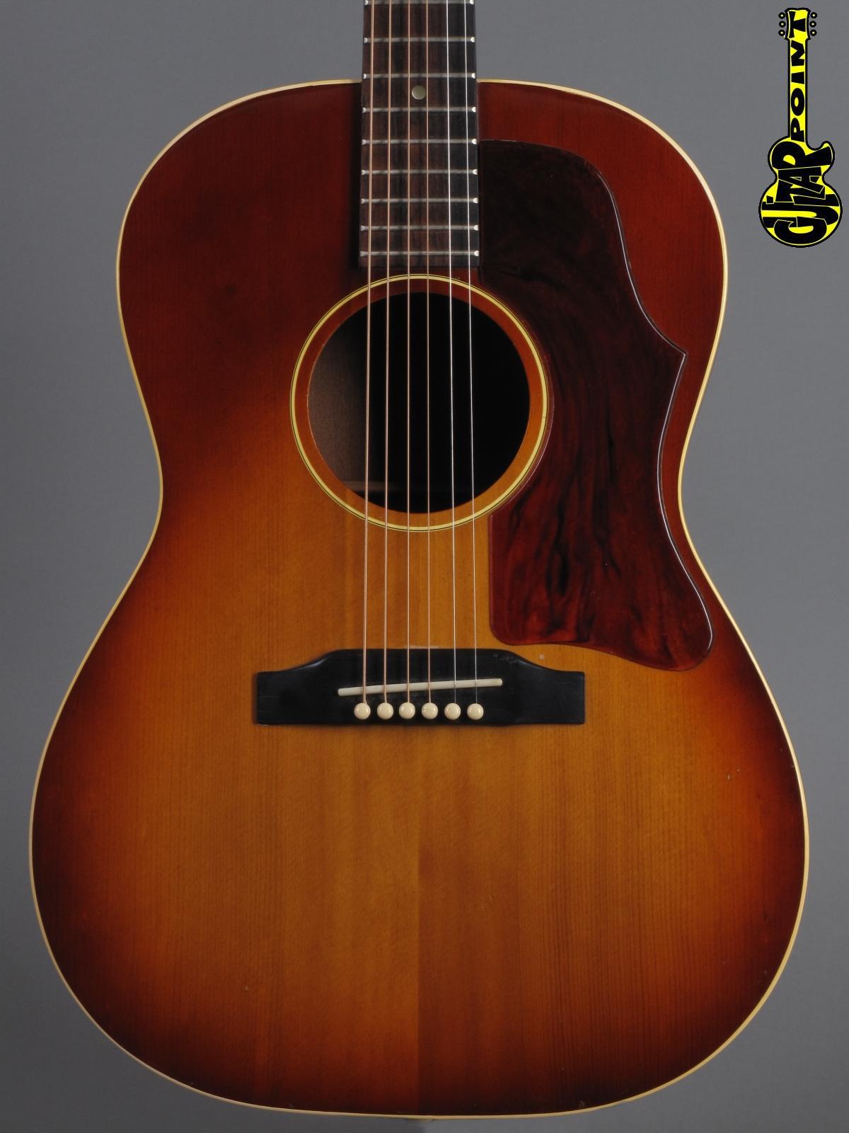 1967 Gibson LG-1 - Cherry Sunburst