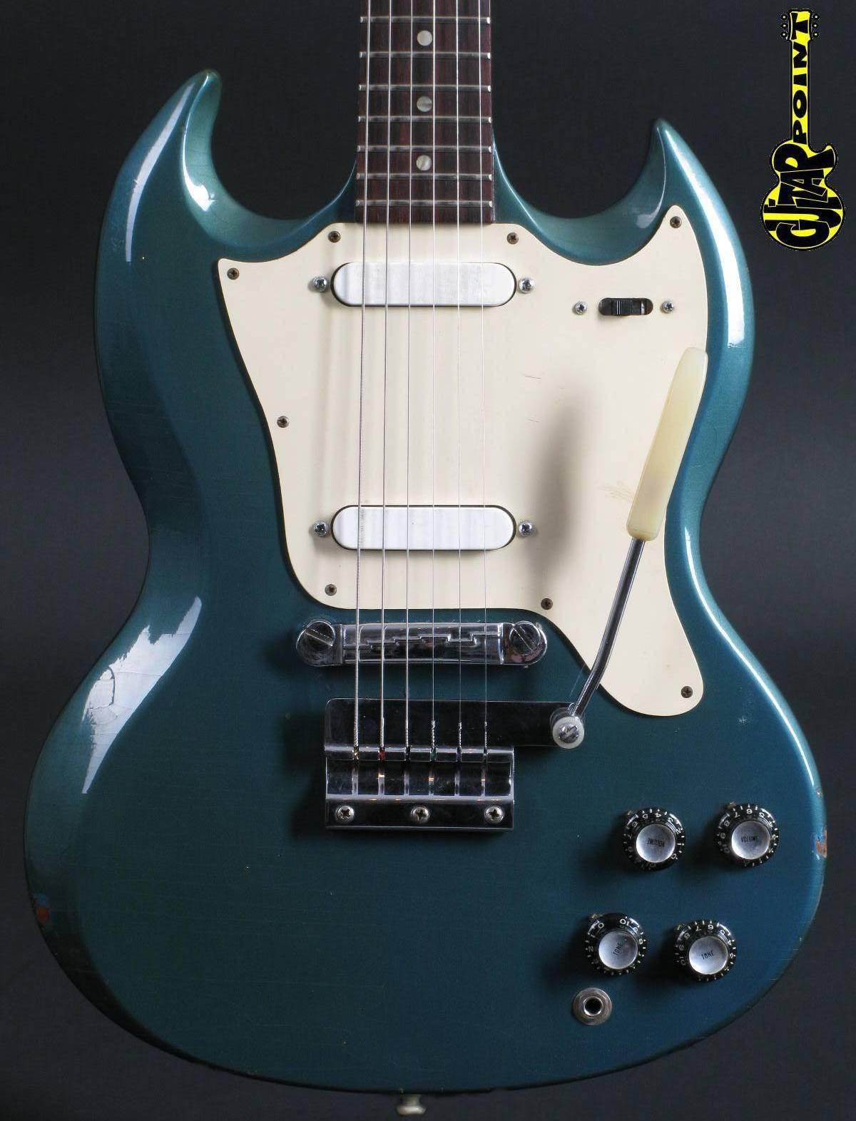 1967 Gibson SG Melody Maker - Pelham Blue