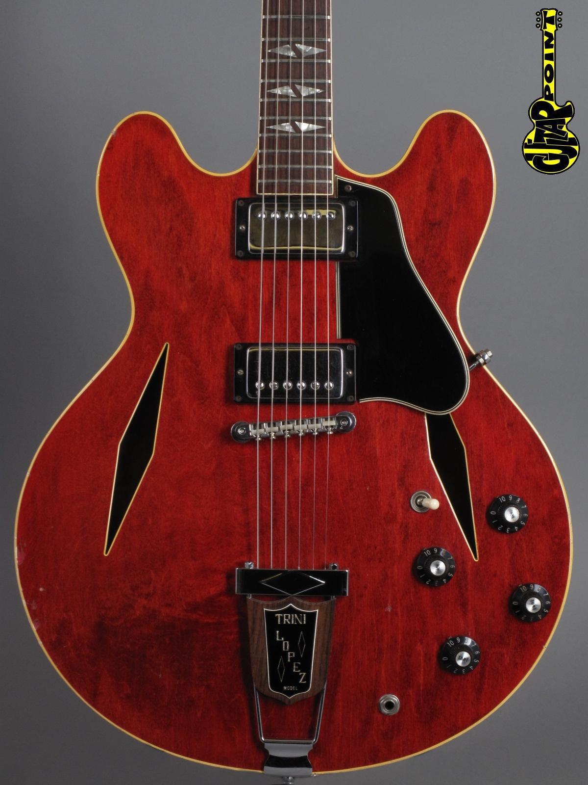 1967 Gibson Trini Lopez Standard - Cherry