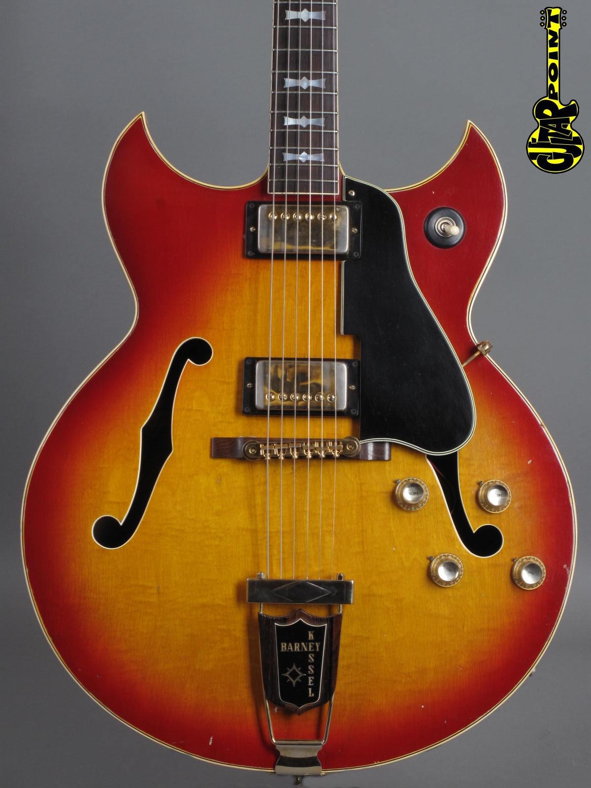1968 Gibson Barney Kessel Custom - Cherry Sunburst