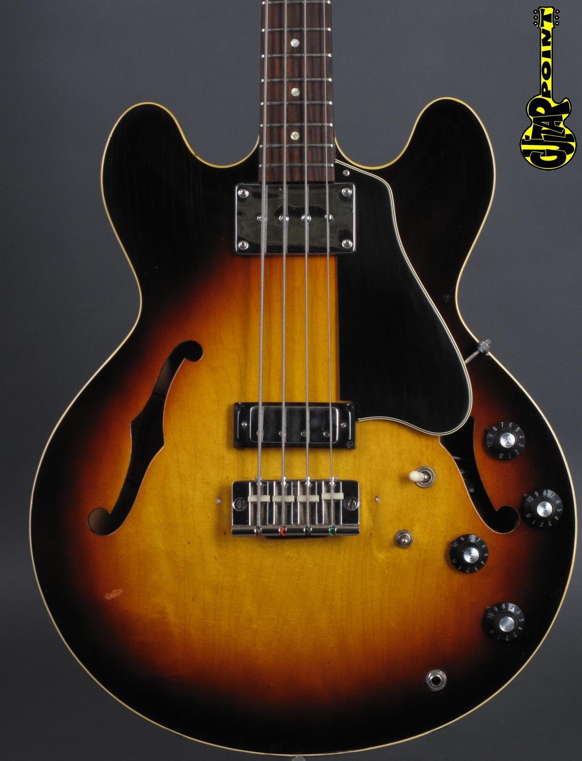1968 Gibson EB-2D Bass - Sunburst