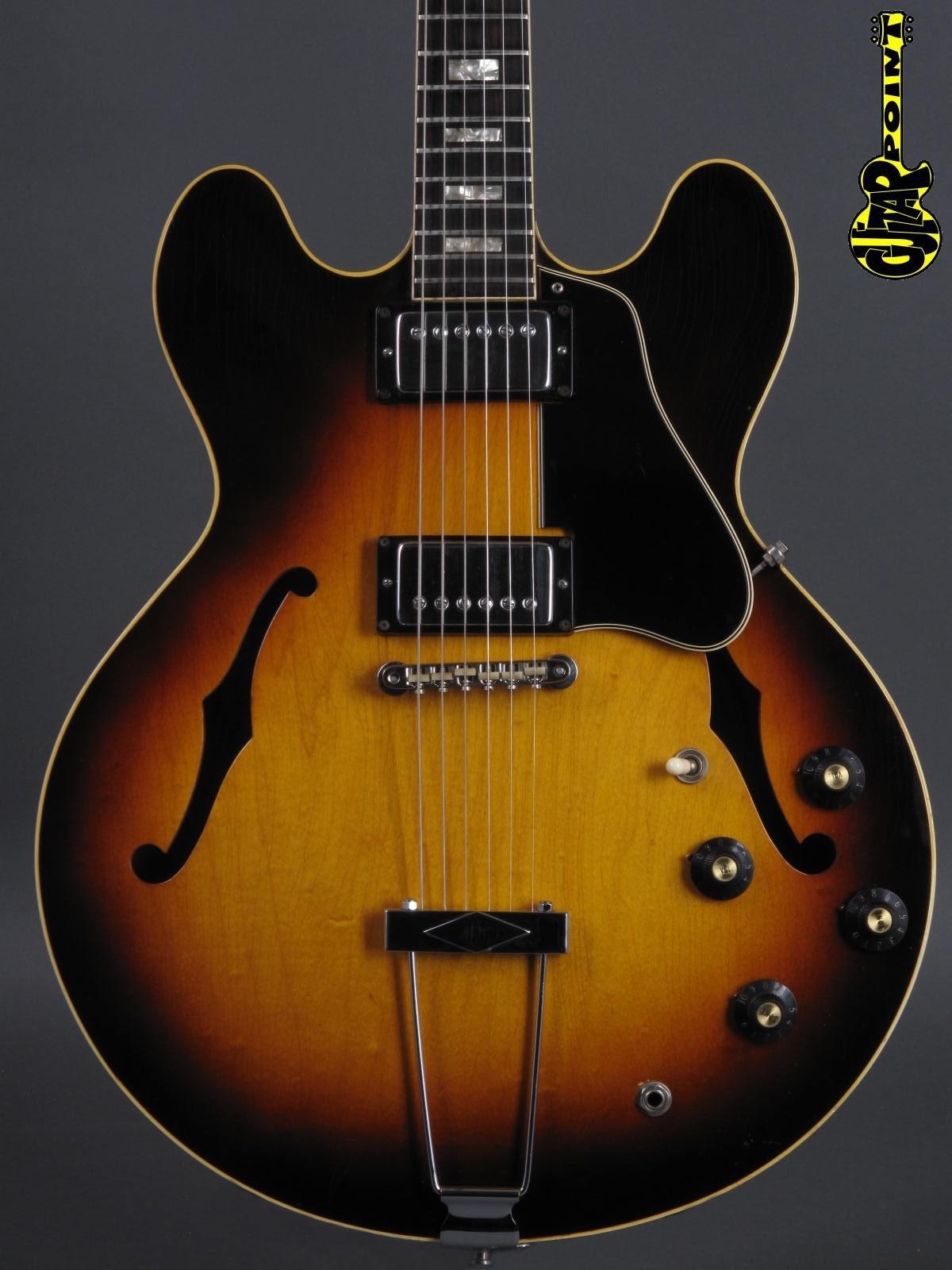1968 Gibson ES-335 TD -  Sunburst incl. orig.hardshell case