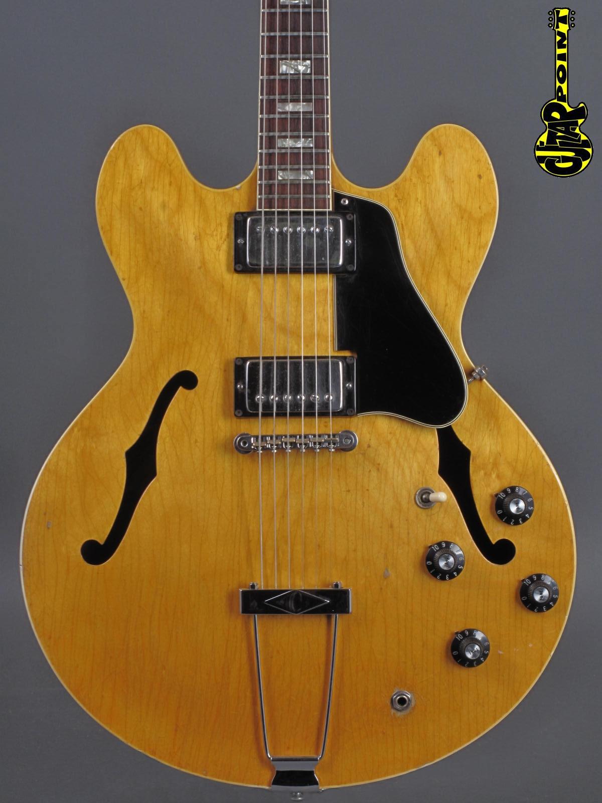 1968 Gibson ES-340 TDN - Natural