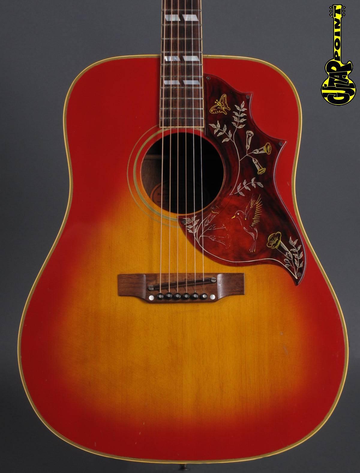 1968 Gibson Hummingbird - Cherry Sunburst