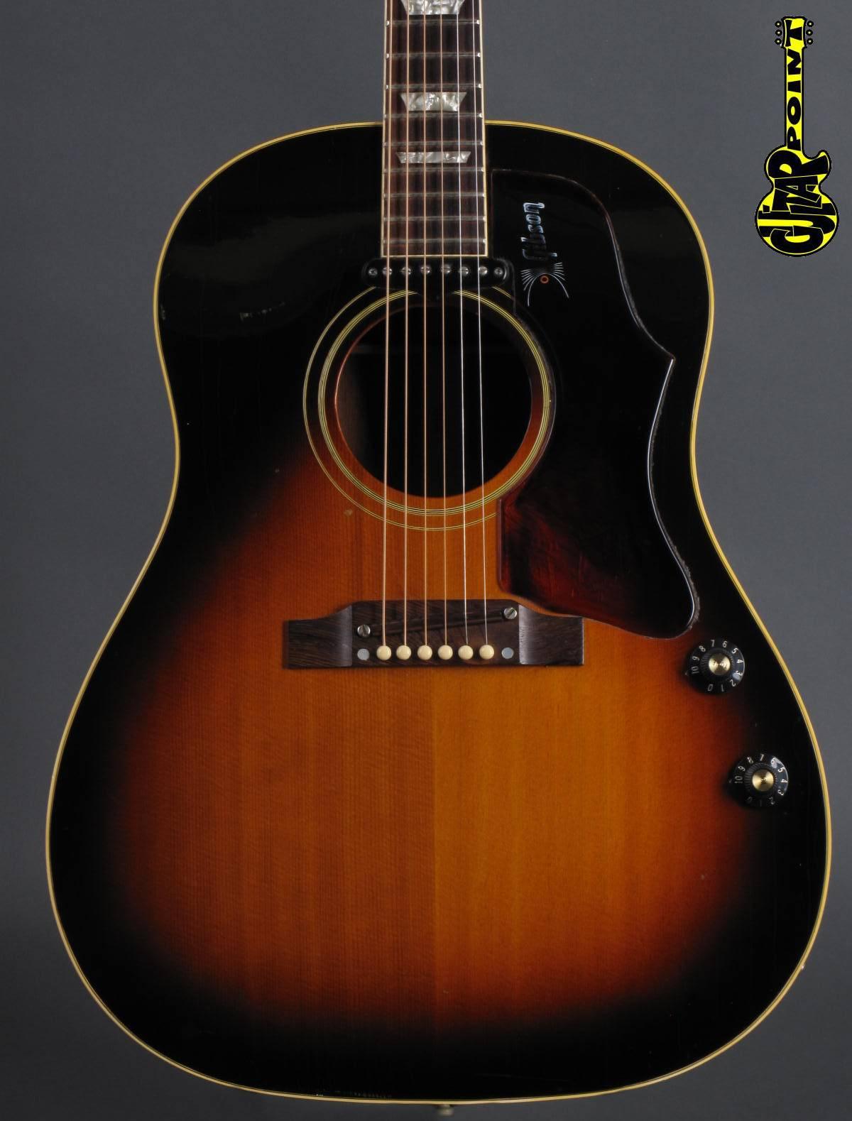 1968 Gibson J-160E - Sunburst