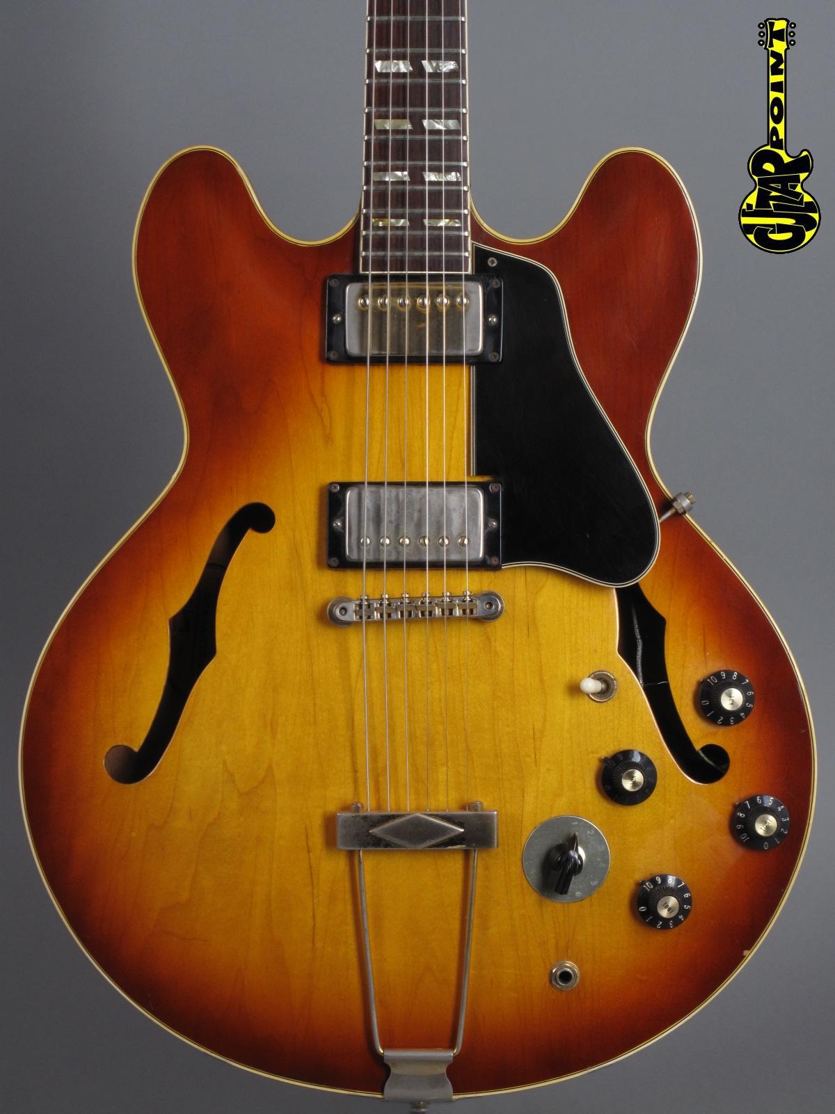 1969 Gibson ES-345 TDSV Stereo - Sunburst