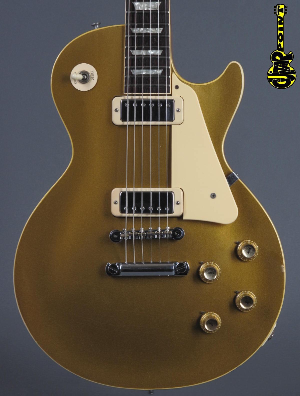 1969 Gibson Les Paul Deluxe - GoldTop   ...lightweight!
