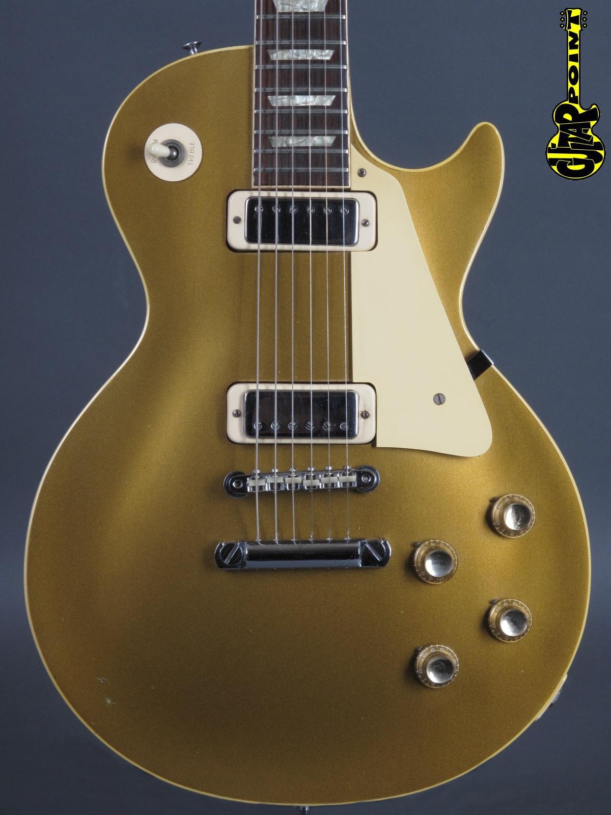 1969 Gibson Les Paul Deluxe - GoldTop
