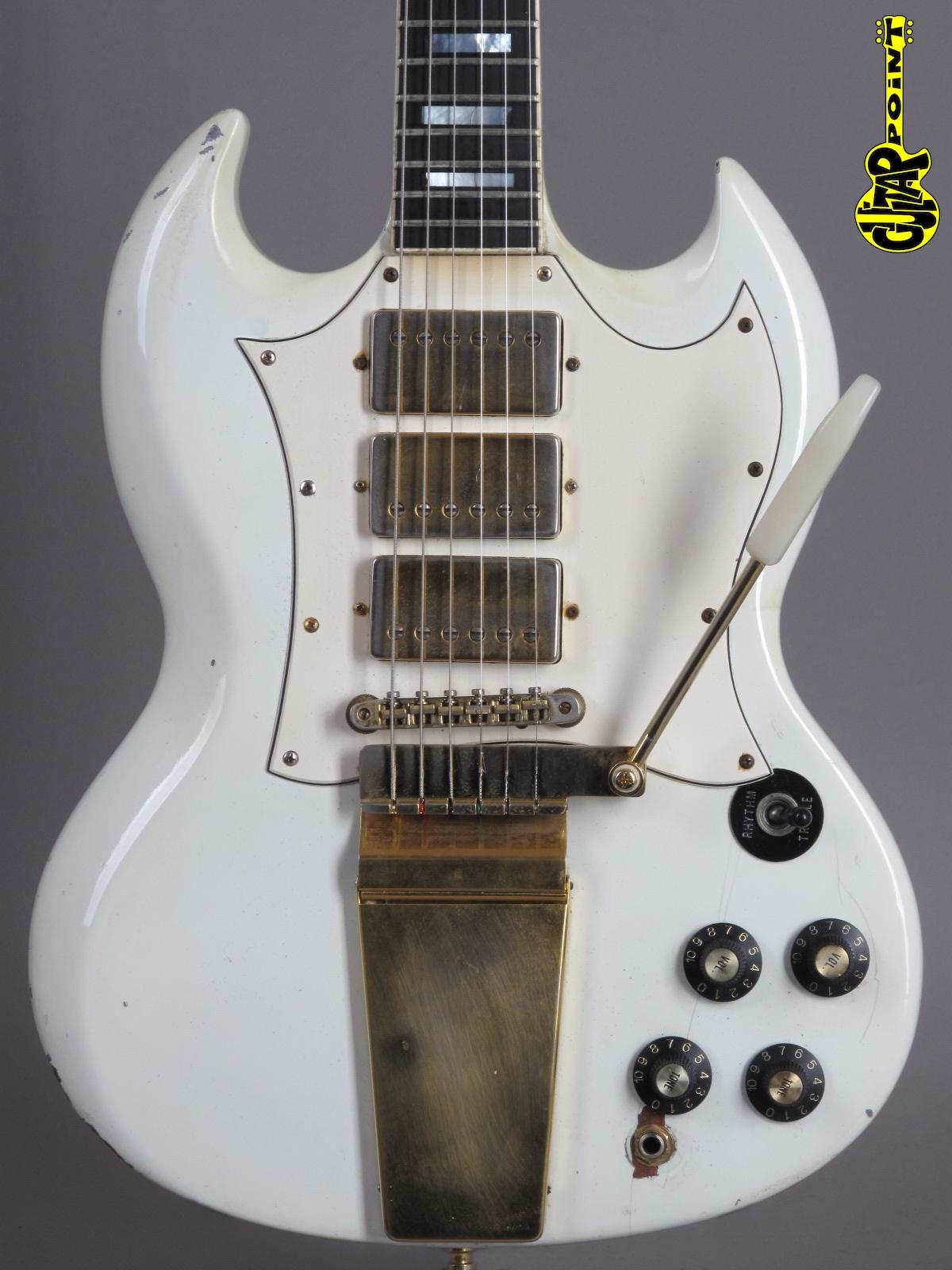 1969 Gibson SG Custom - White