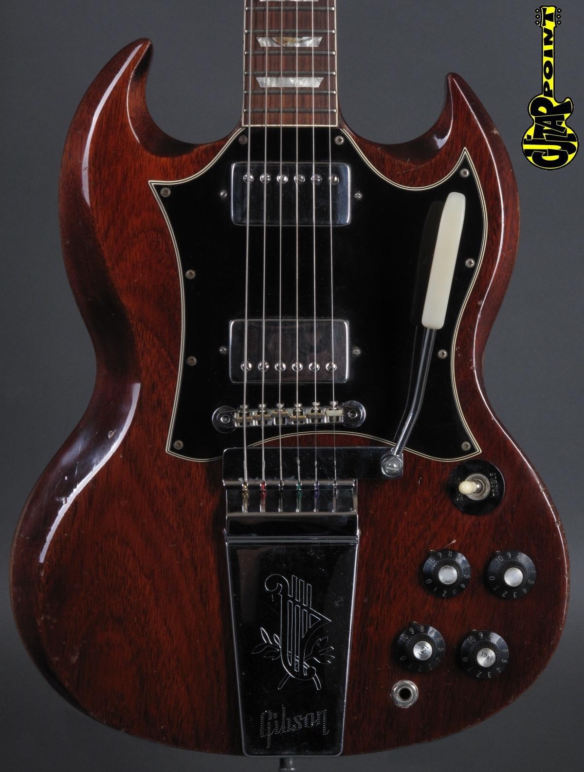 1969 Gibson SG Standard - Cherry incl. orig. hardshell case
