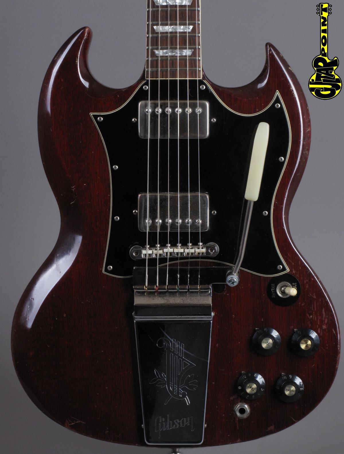 1969 Gibson SG Standard - Cherry