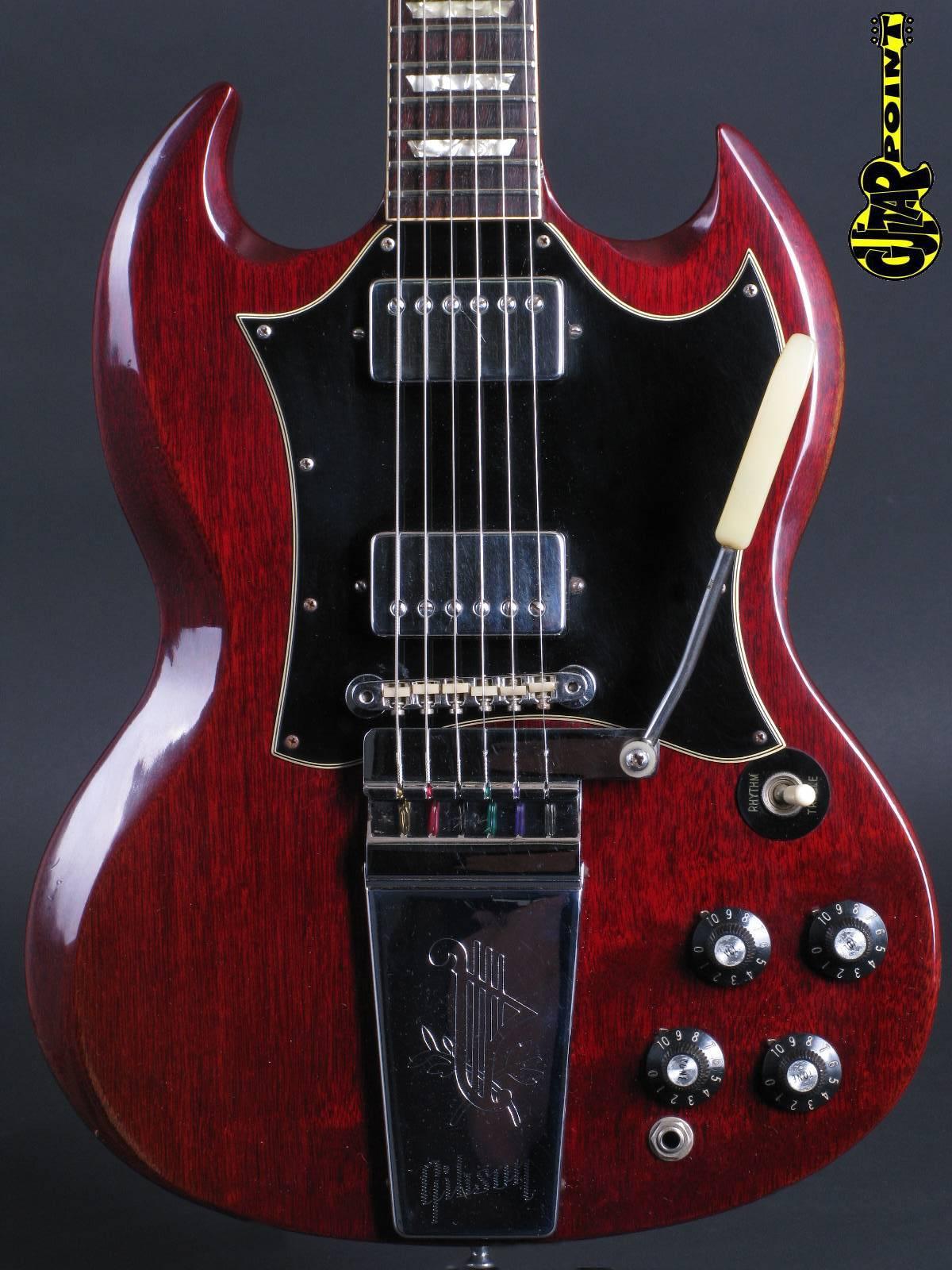 1969 Gibson SG Standard - Cherry  (like 1968)