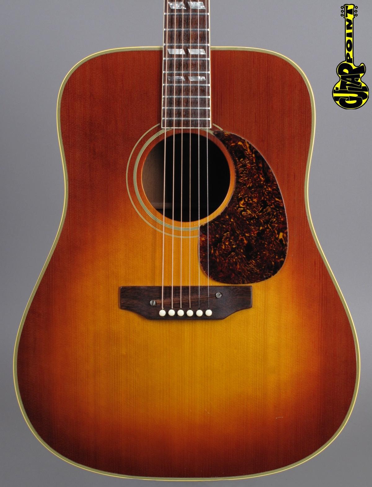 1970 Gibson SJ (Southern Jumbo) - Sunburst