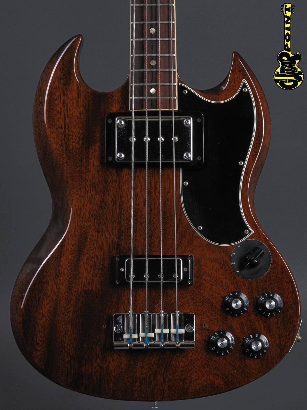 1971 Gibson EB-3 Bass - Walnut