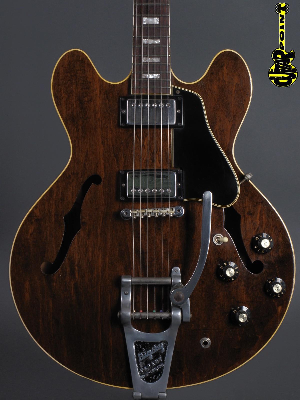1971 Gibson ES-335 TD - Walnut   ...factory Bigsby !