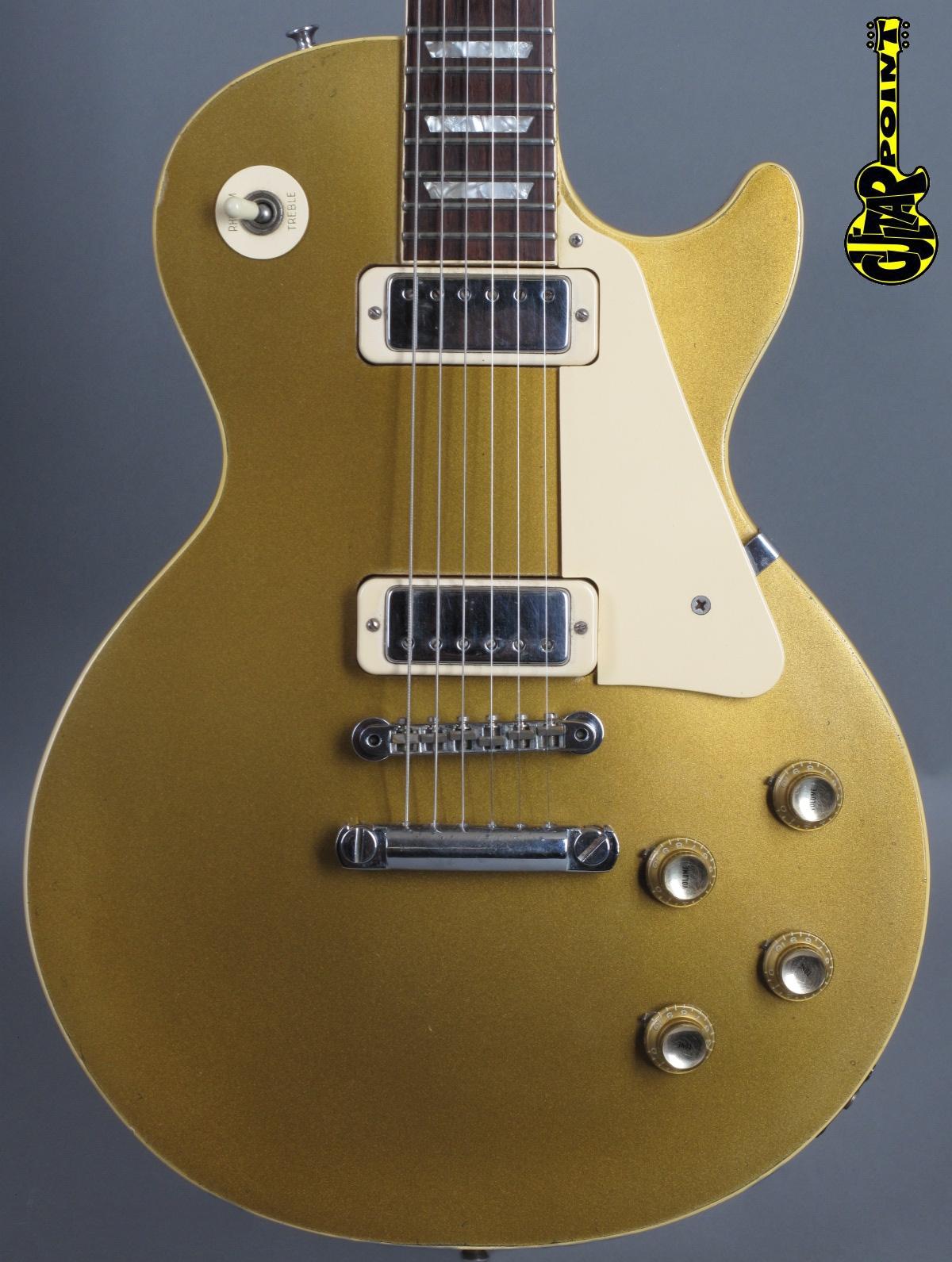 1971 Gibson Les Paul Deluxe - Goldtop