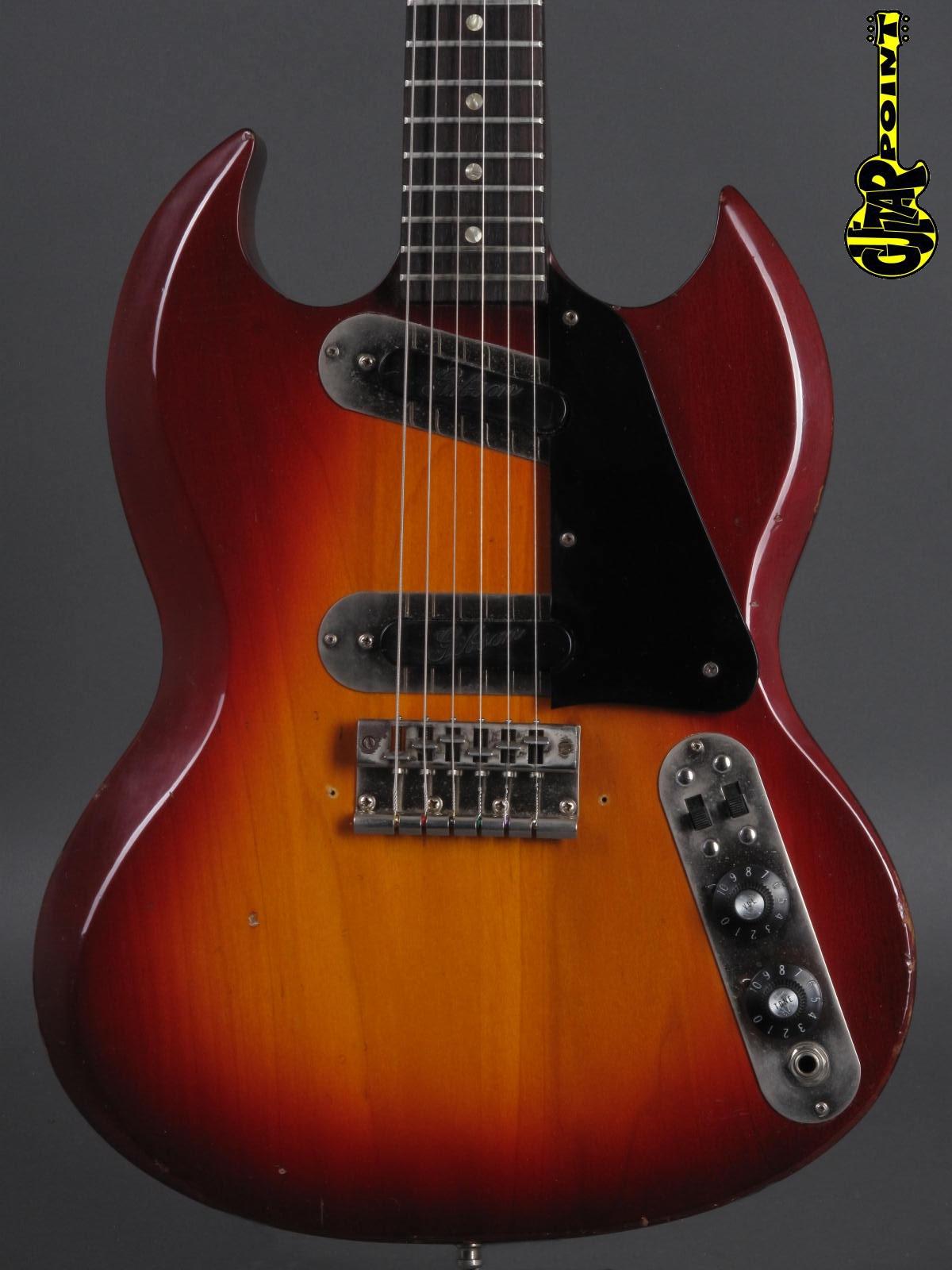 1971 Gibson SG-200 - Cherry Sunburst
