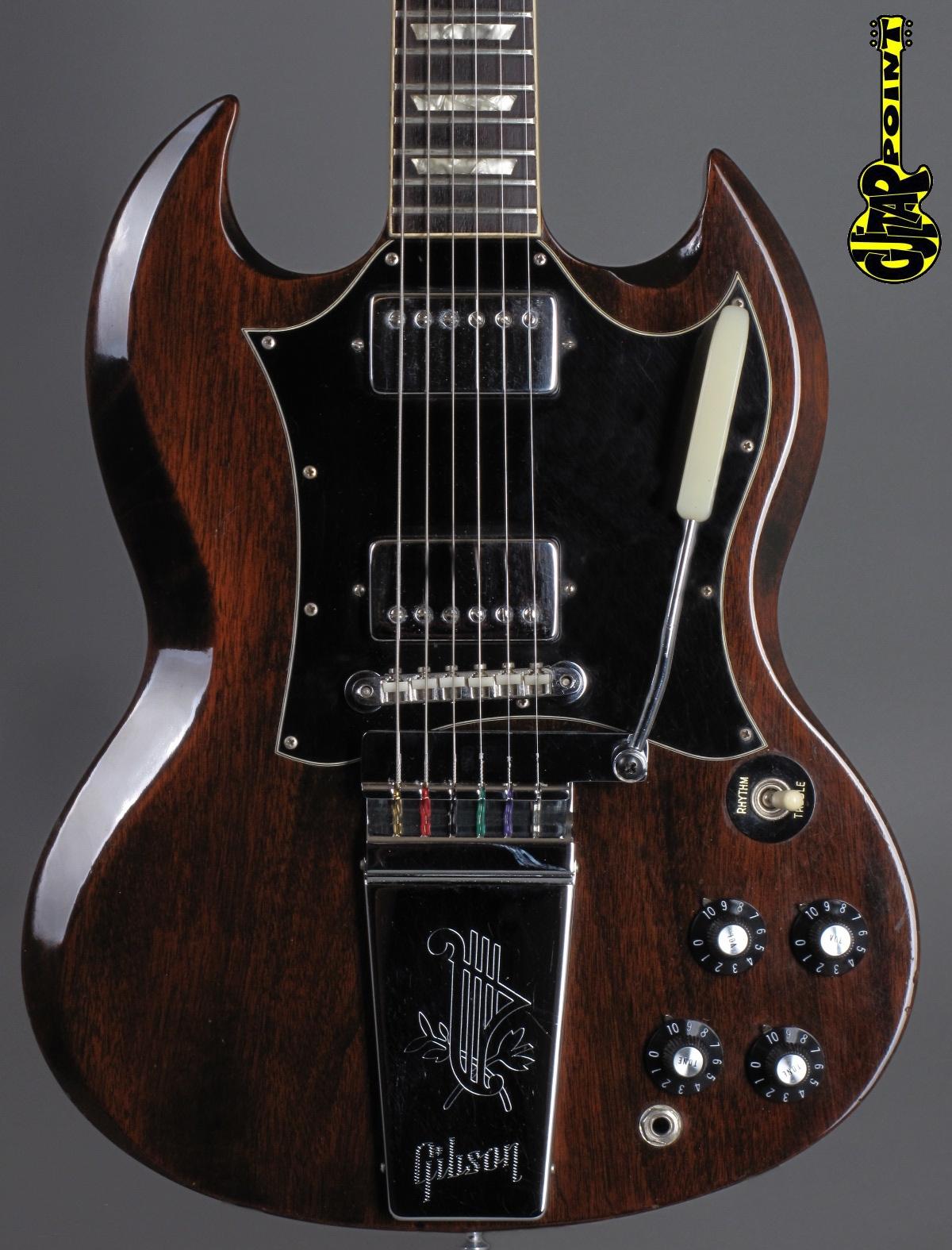 1971 Gibson SG Standard - Mahogany    ...lightweight !