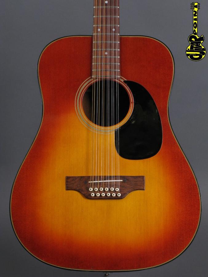 1972 Gibson B-45 12-string - Sunburst