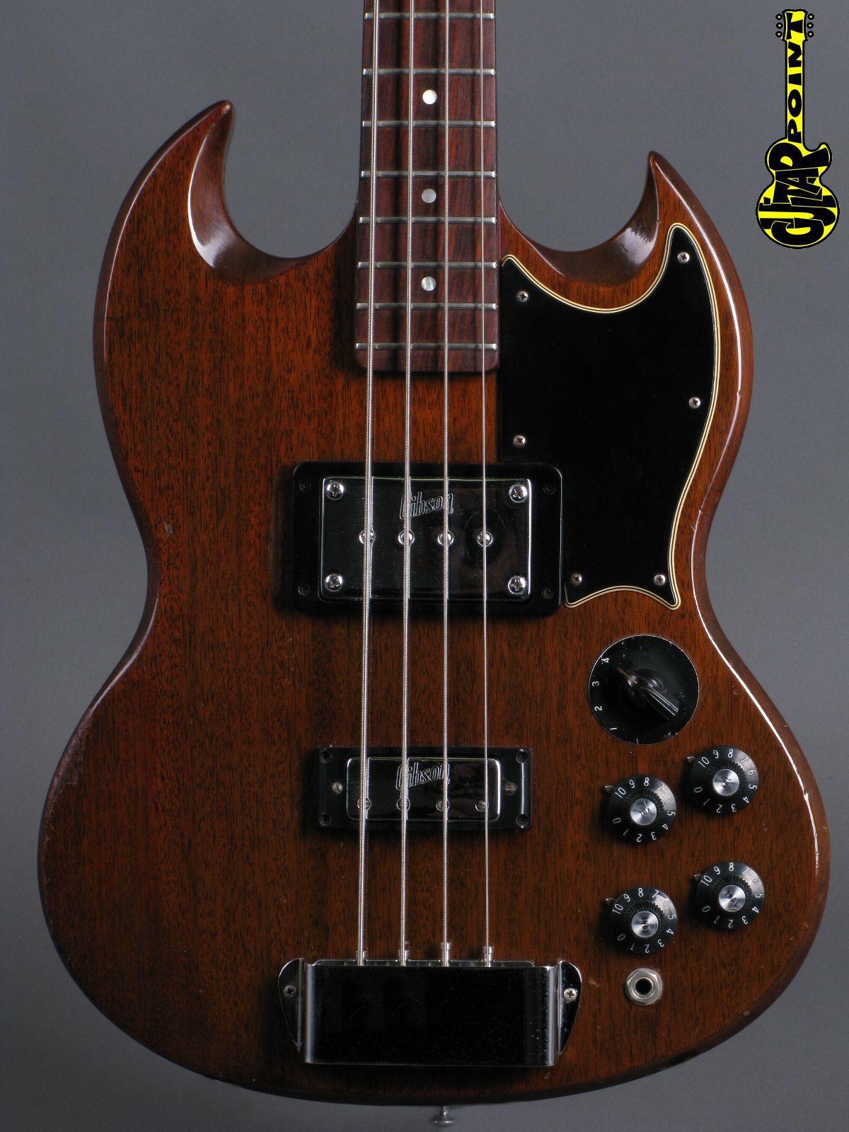1972 Gibson EB-3 Bass - Cherry