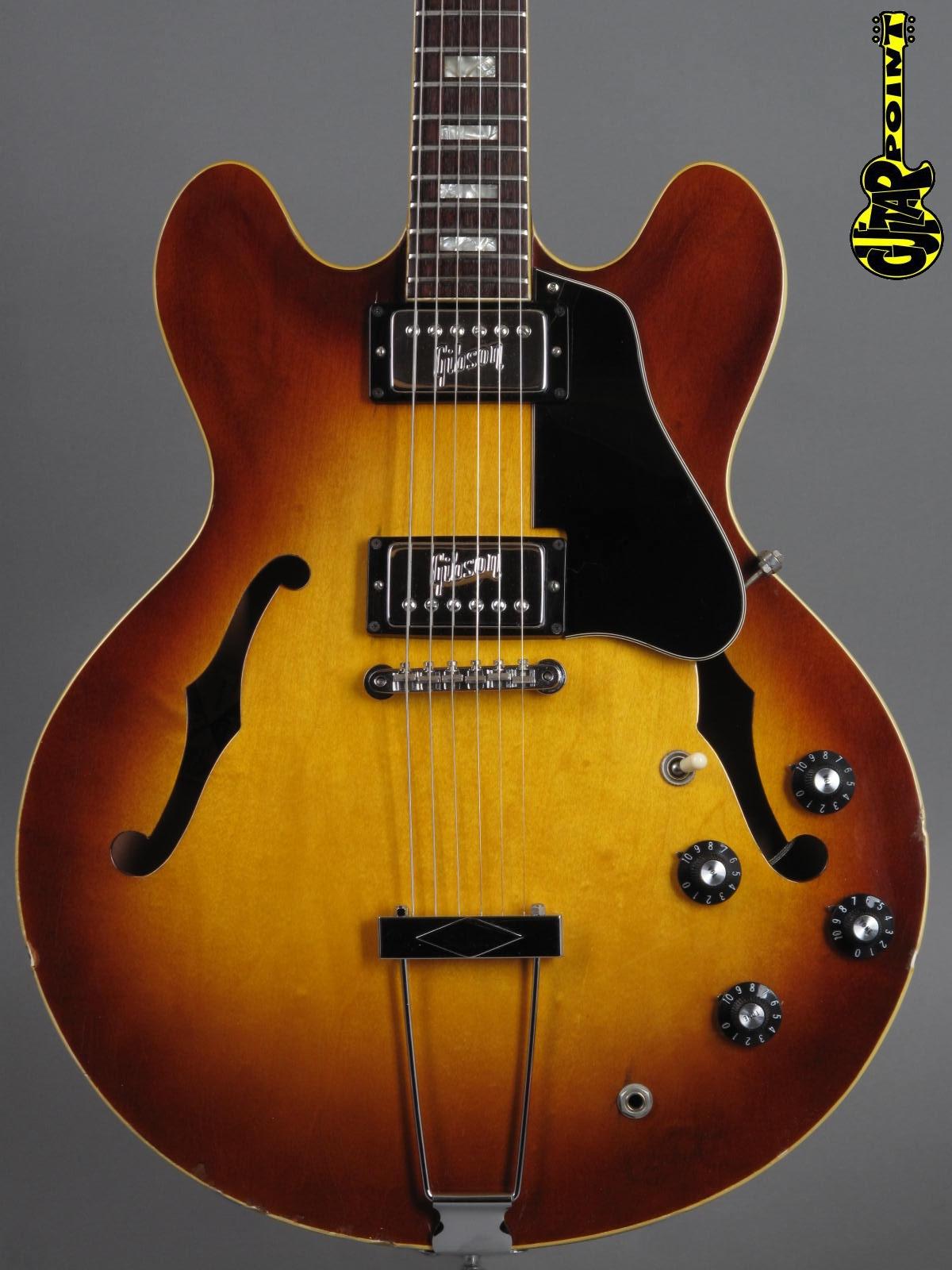 1972 Gibson ES-335 - Sunburst