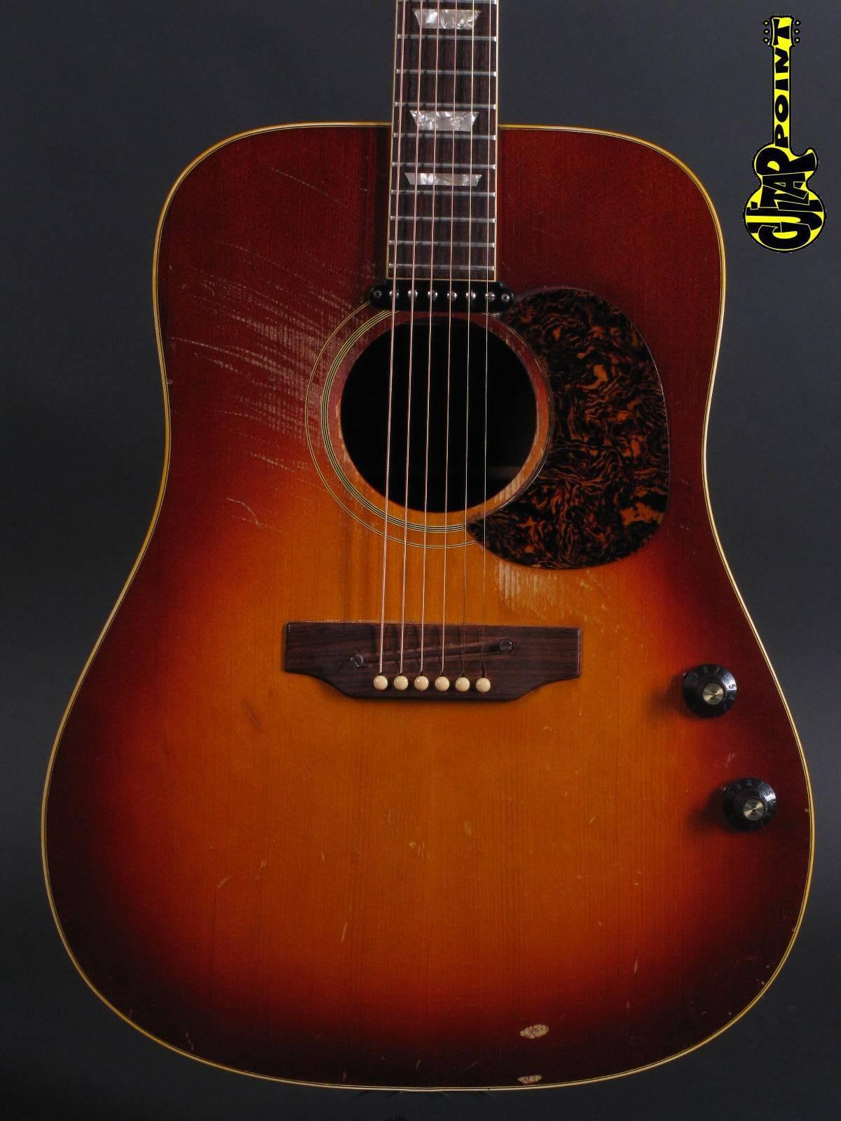 1972 Gibson EJ-160E - Sunburst